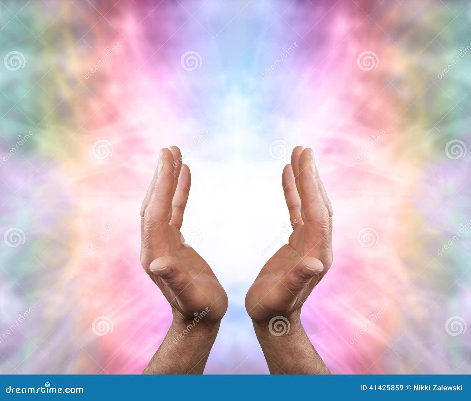 Pięknego anioła lecznicza energia