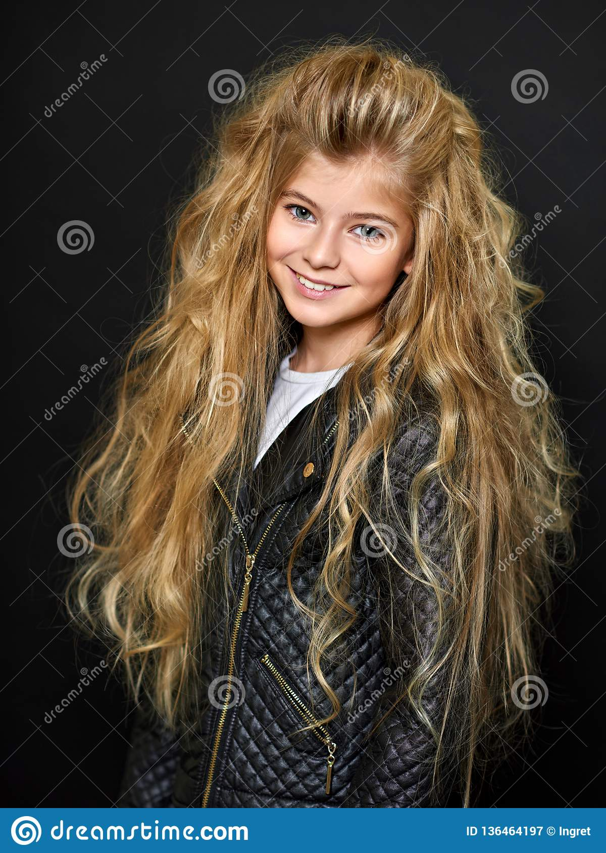 Pięknego dziecka portret