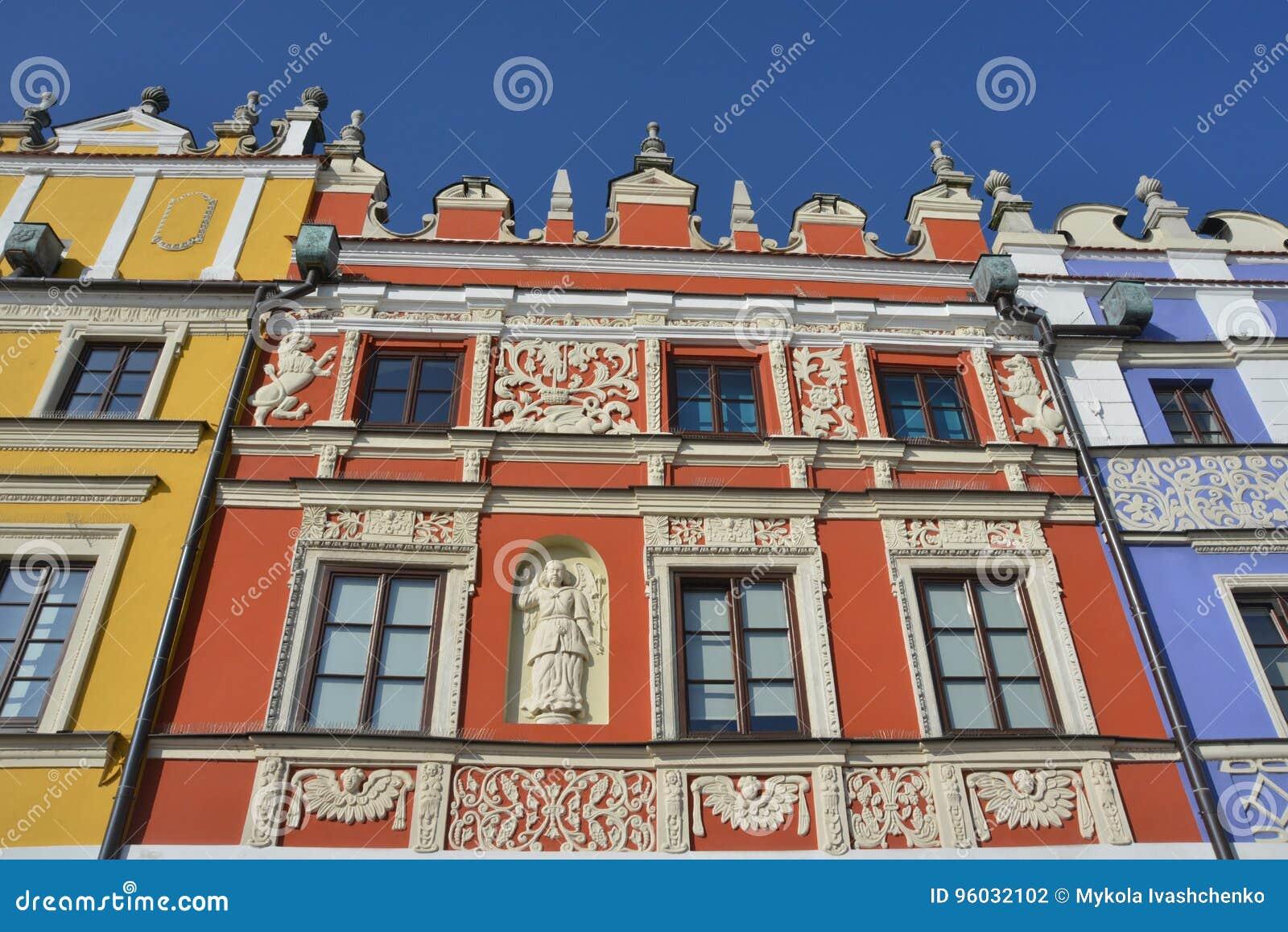 Piękni budynki w Zamojskim