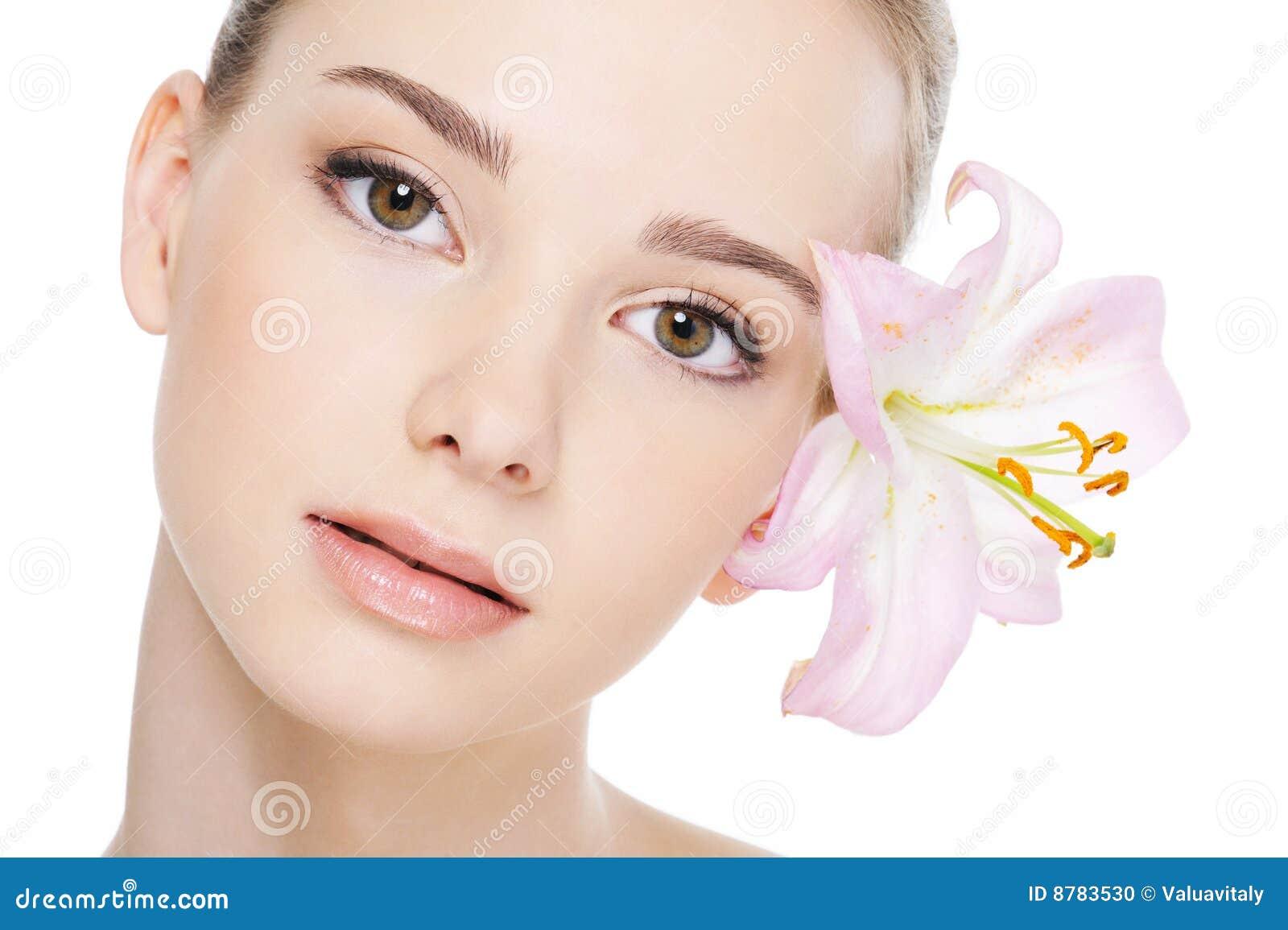 Piękni cery twarzy kobiety zdrowie