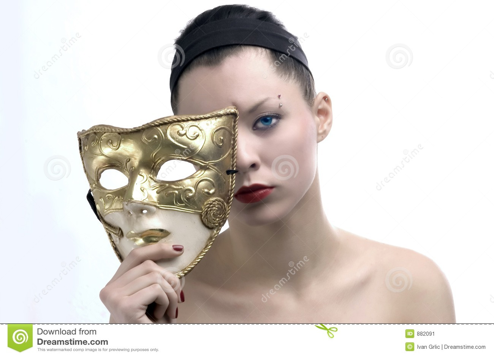 Piękno 3 maska