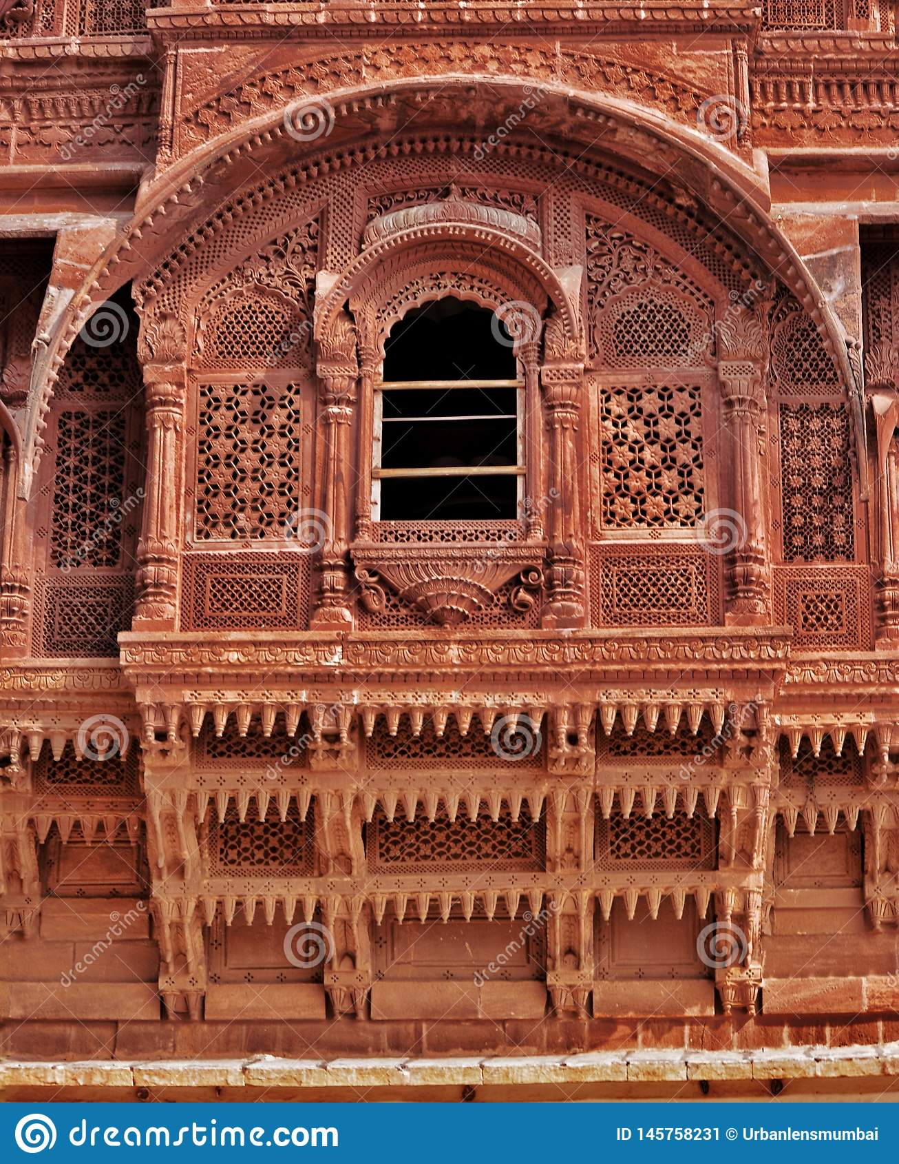 Piękno Indiański dziedzictwa miasta pałac, Jaipur