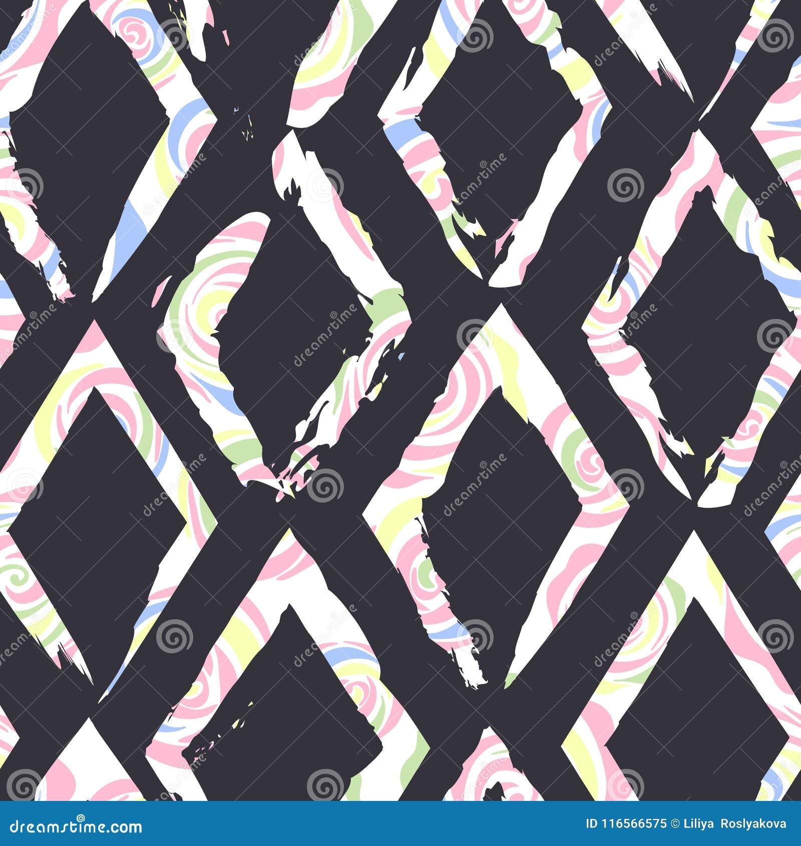 Piękny abstrakcjonistyczny bezszwowy wektoru wzoru tło Doskonalić dla tapet, stron internetowych tła, nawierzchniowe tekstury