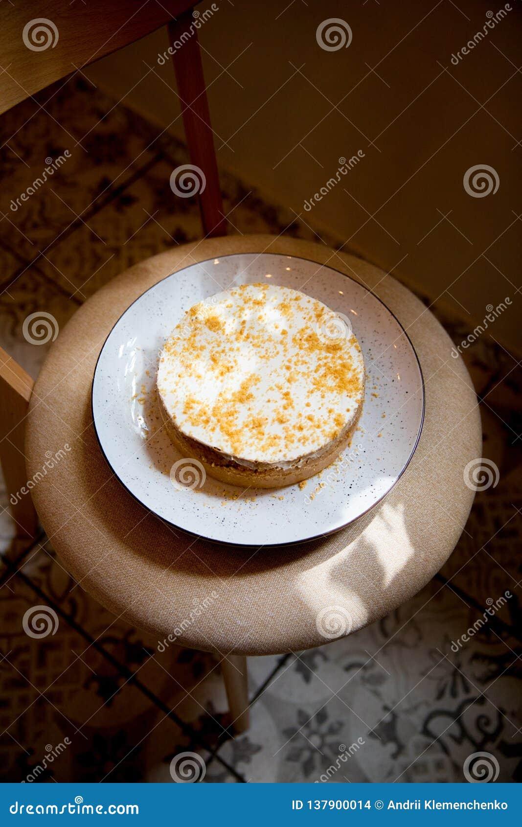 Piękny ciasto torty i macaroons torty i inni słodcy desery