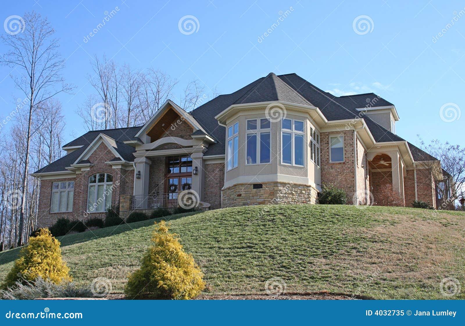Piękny dom nowego
