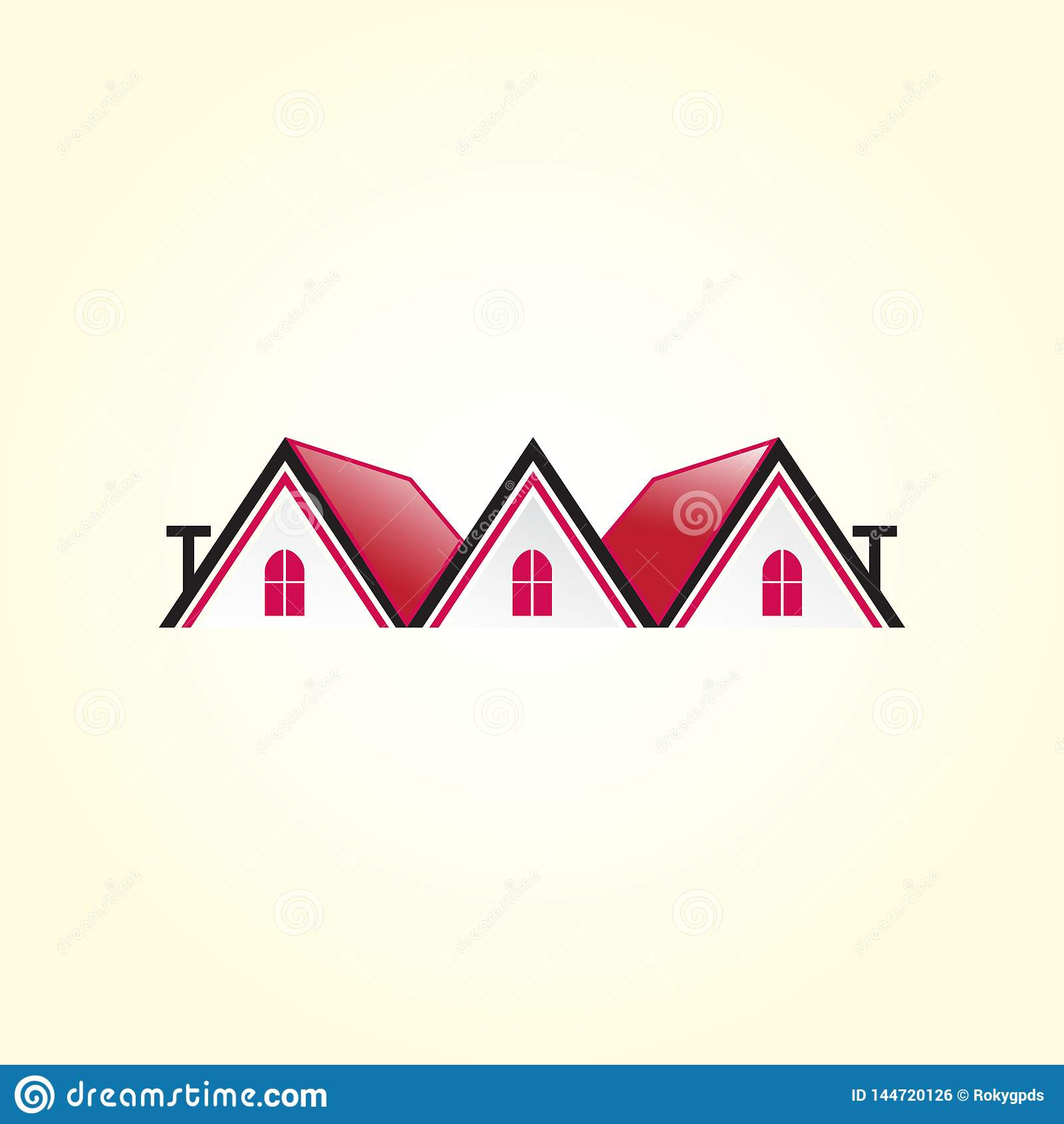 Piękny domowy logo Budynek, nieruchomość logo dla twój firmy