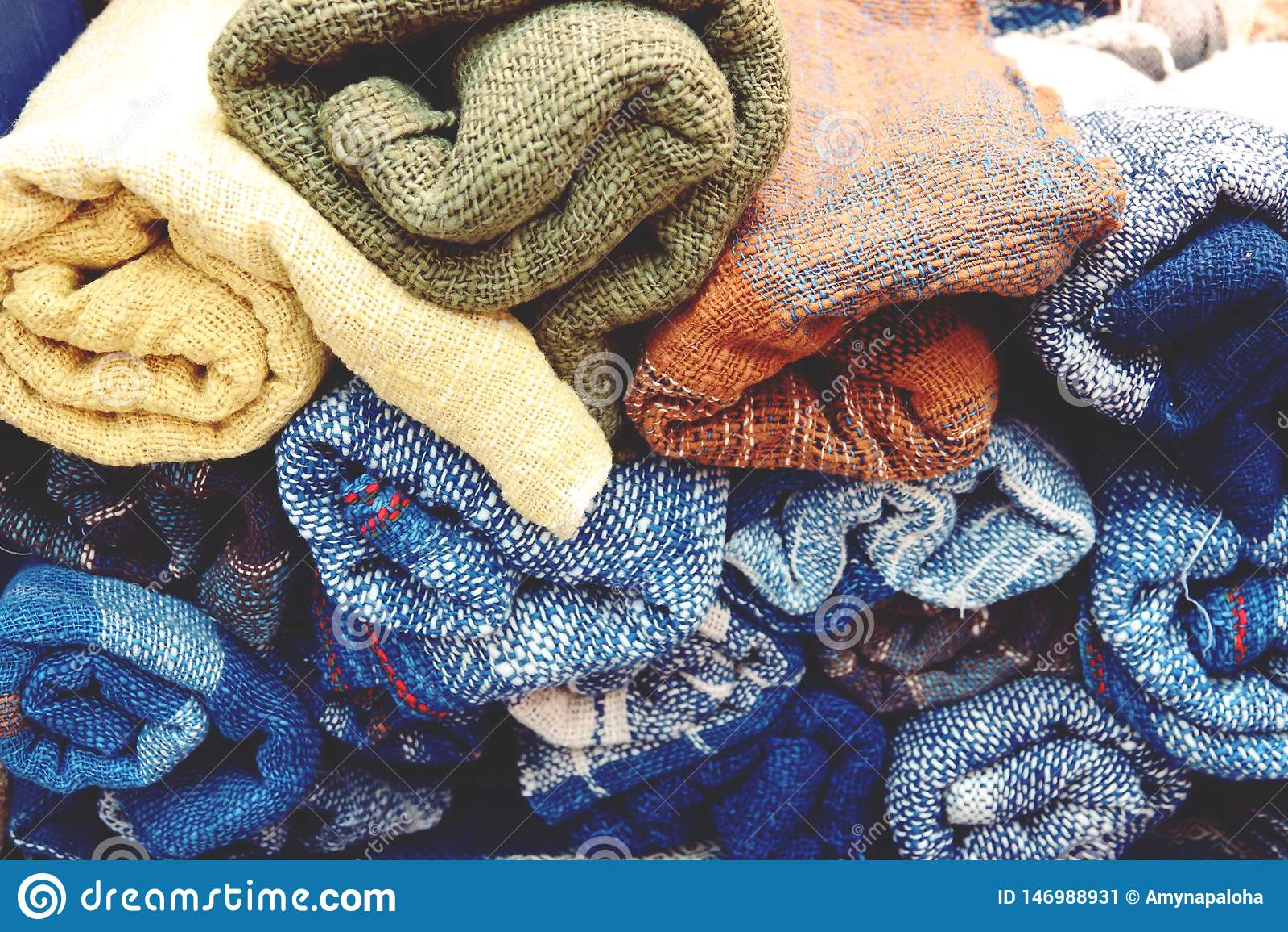 Piękny kolor organicznie handmade, przędza, surowa dla bawełnianego jedwabiu
