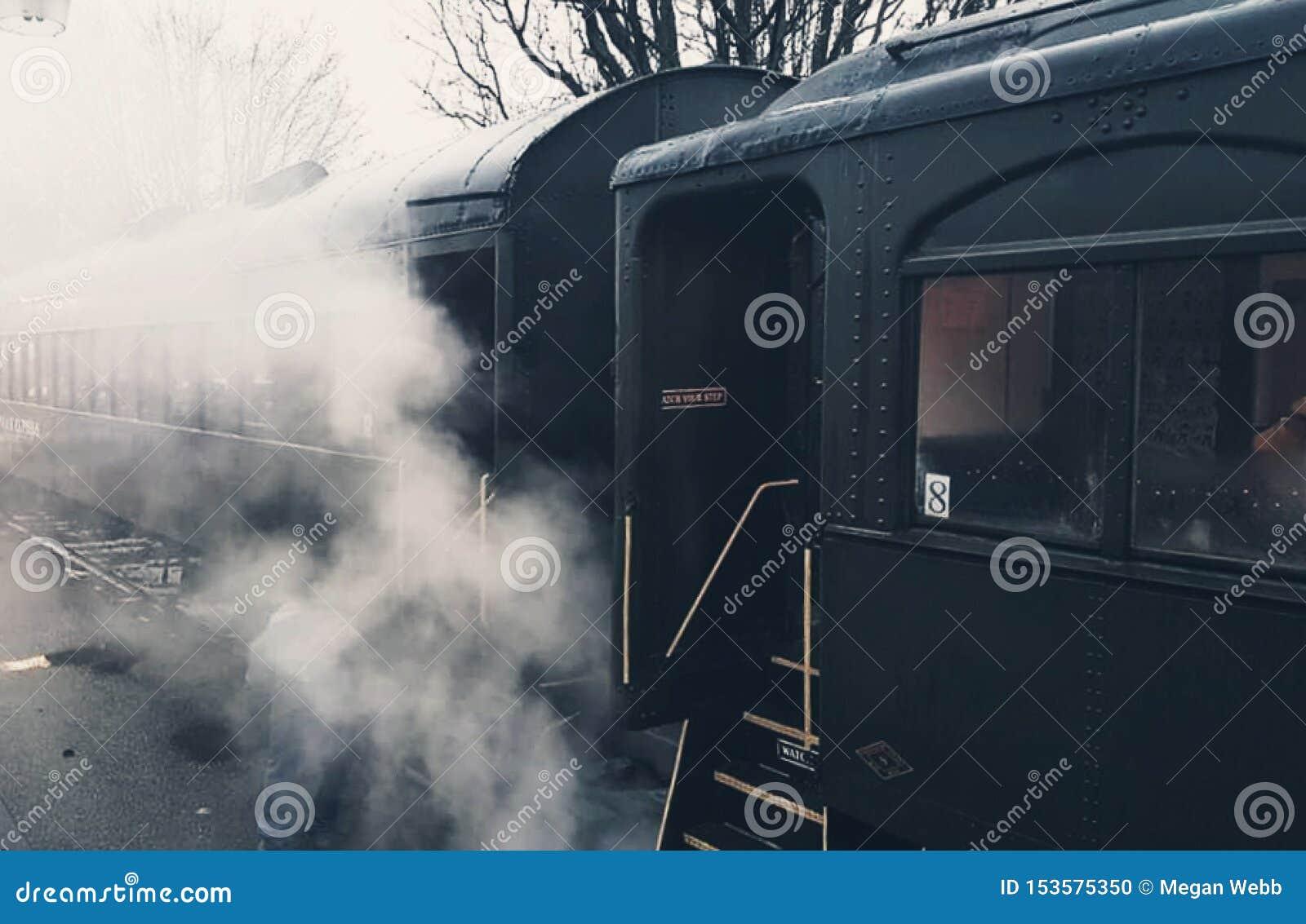 Piękny kontrpara pociąg