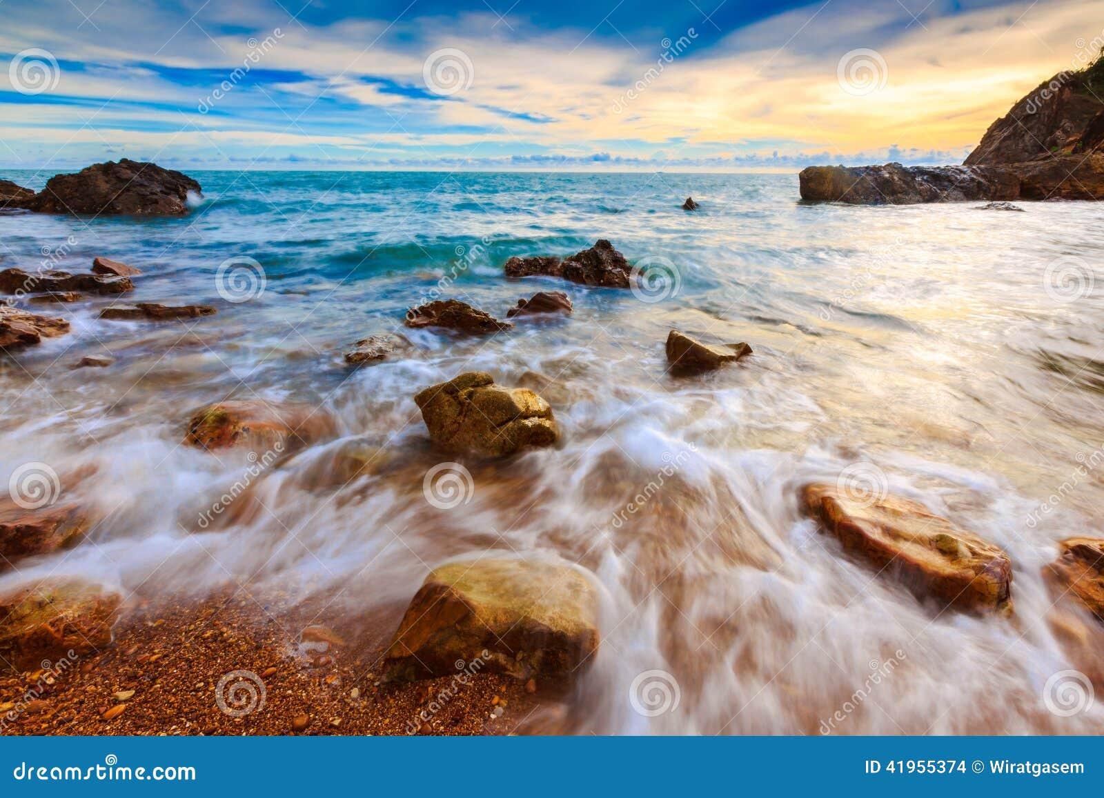 Piękny Seascape