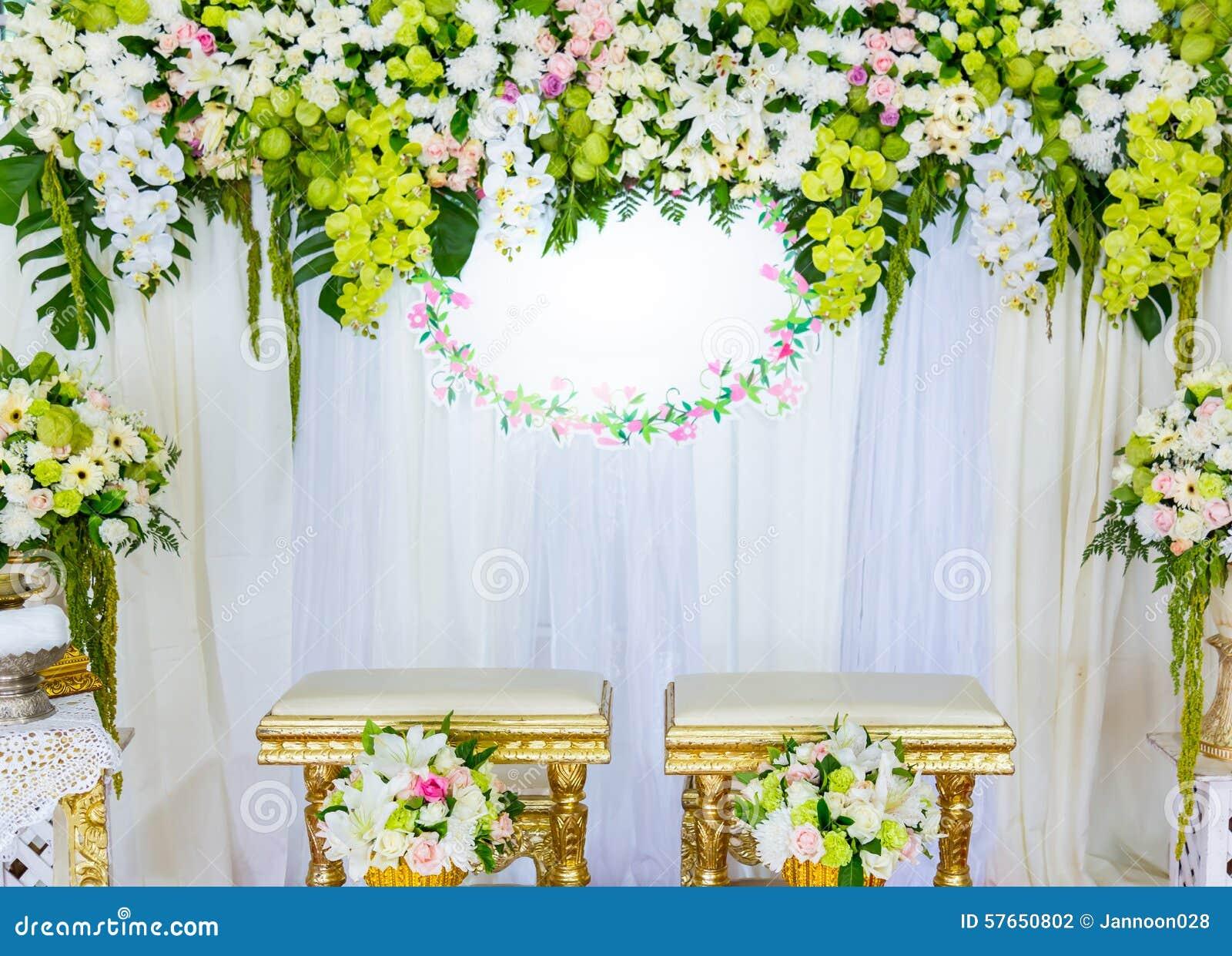 Piękny w Ślubnej ceremonii