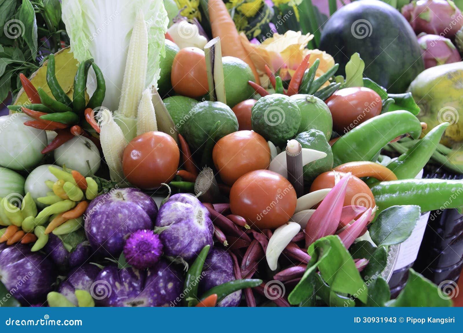 Piękny warzywo
