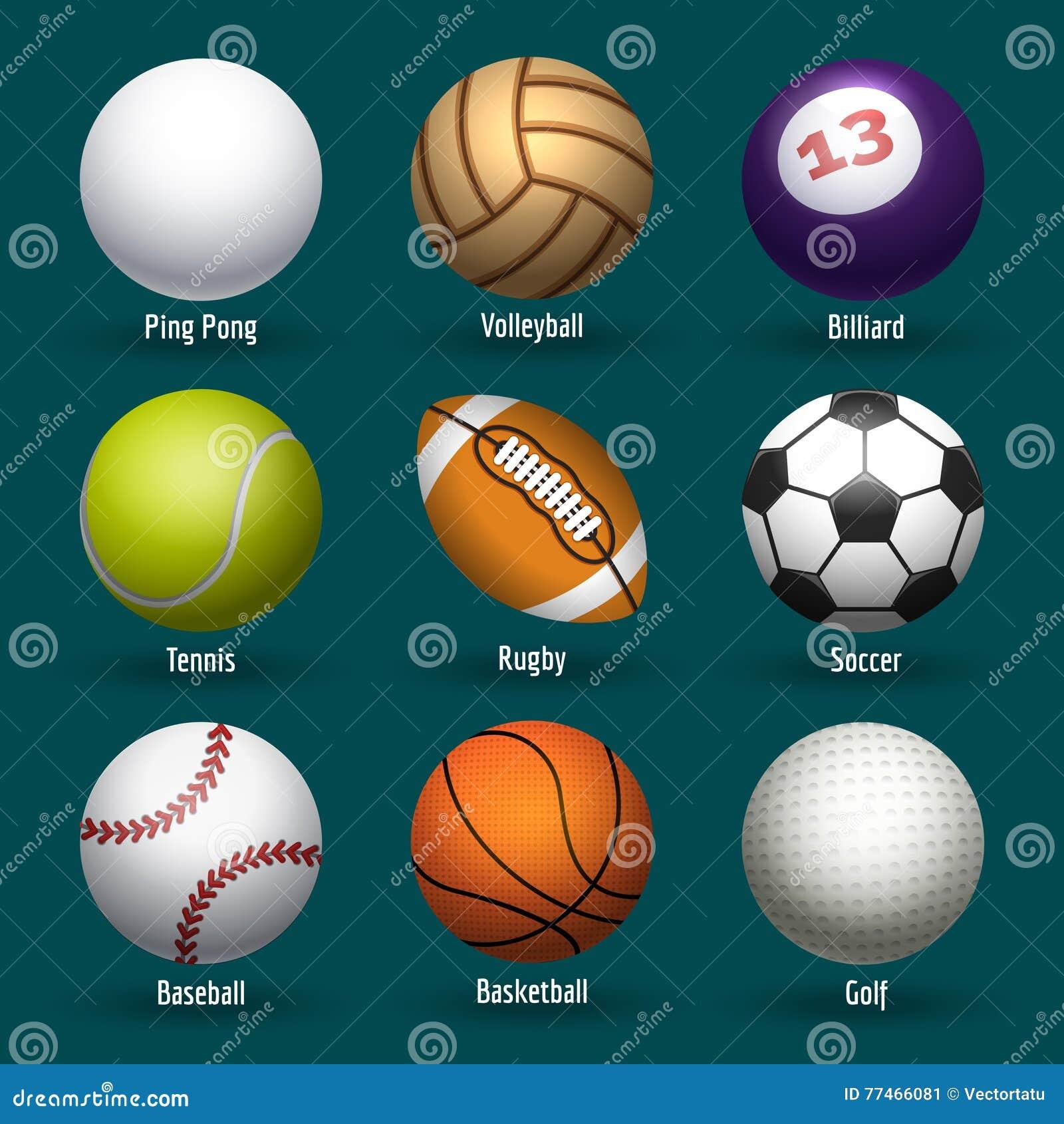 Piłek ikon ilustracyjny sportów wektor