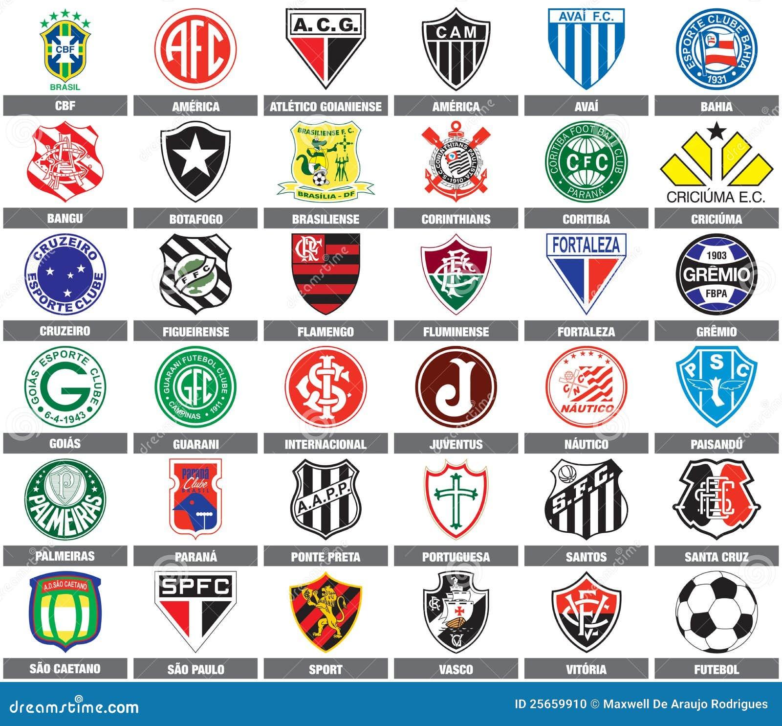 Piłek nożnych brazylijskie drużyny