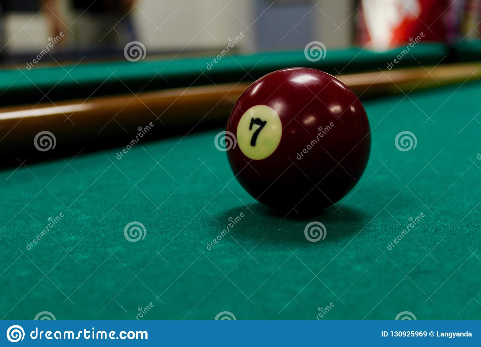 Piłka 7 basen