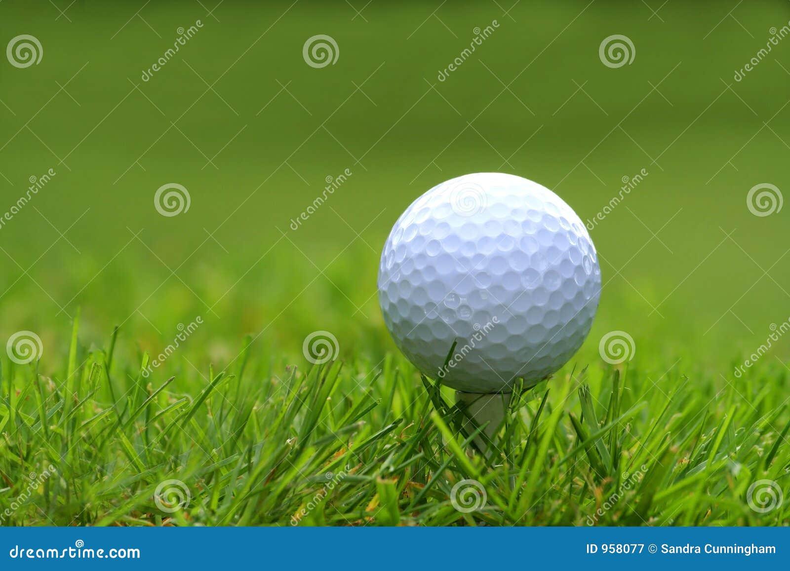 Piłka do golfa tee