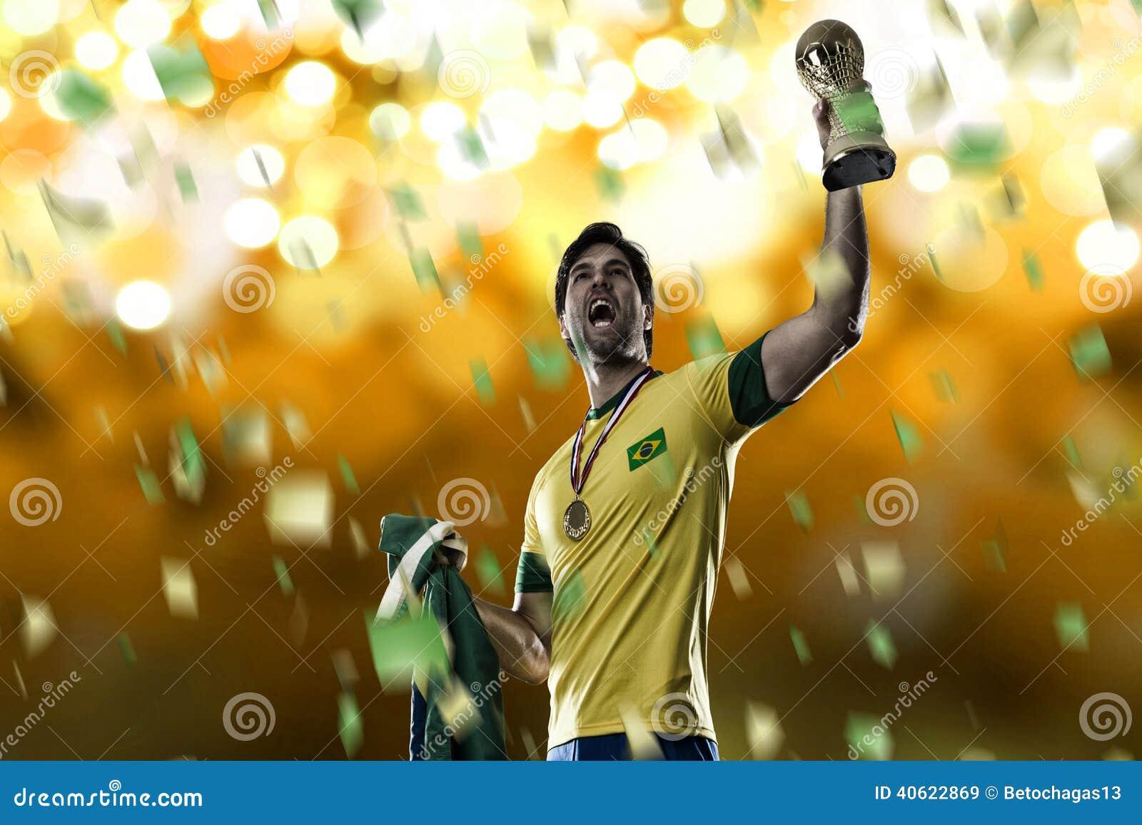 Piłka nożna brazylijskiej gracza