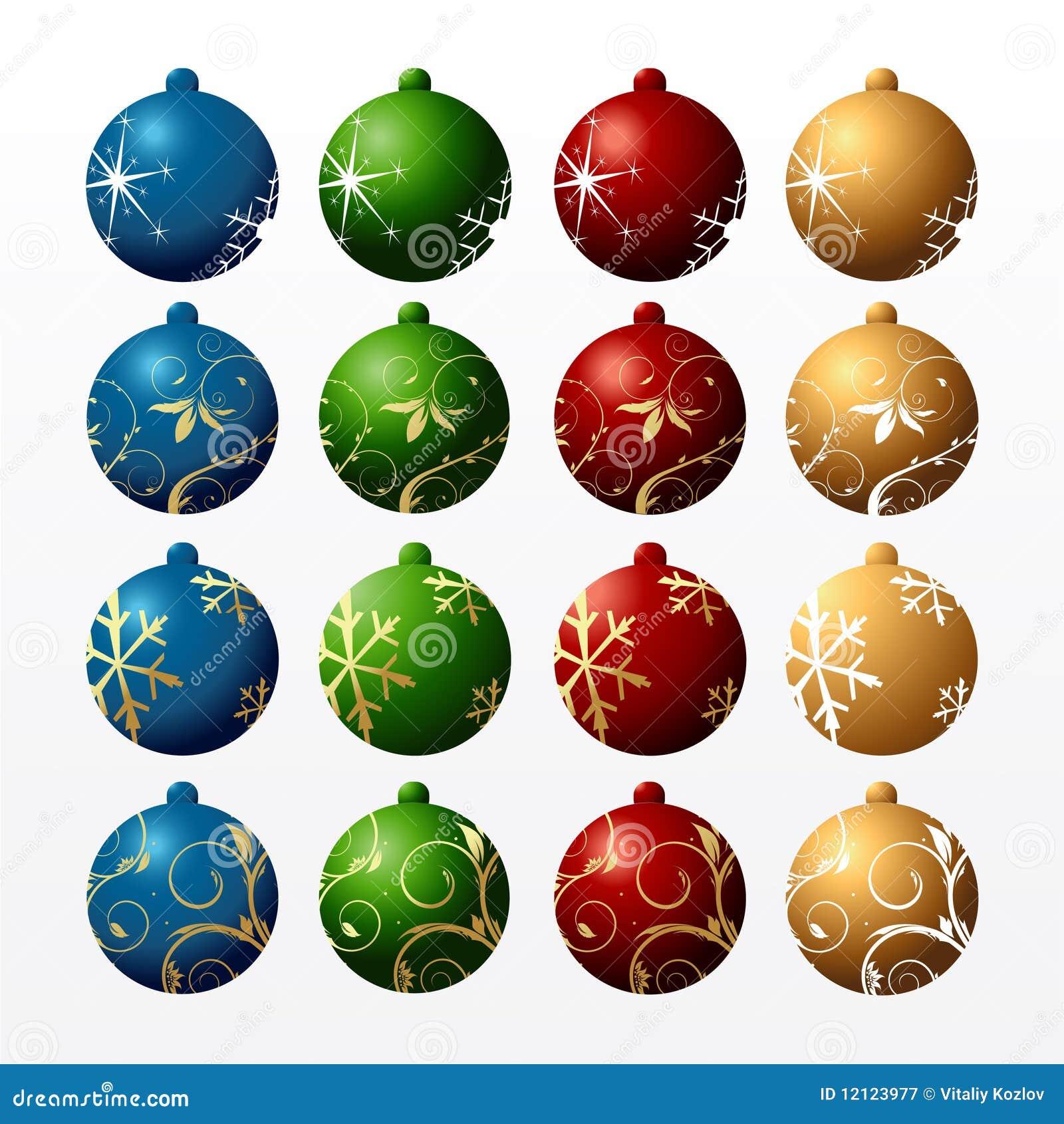 Piłki colour s nowego rok