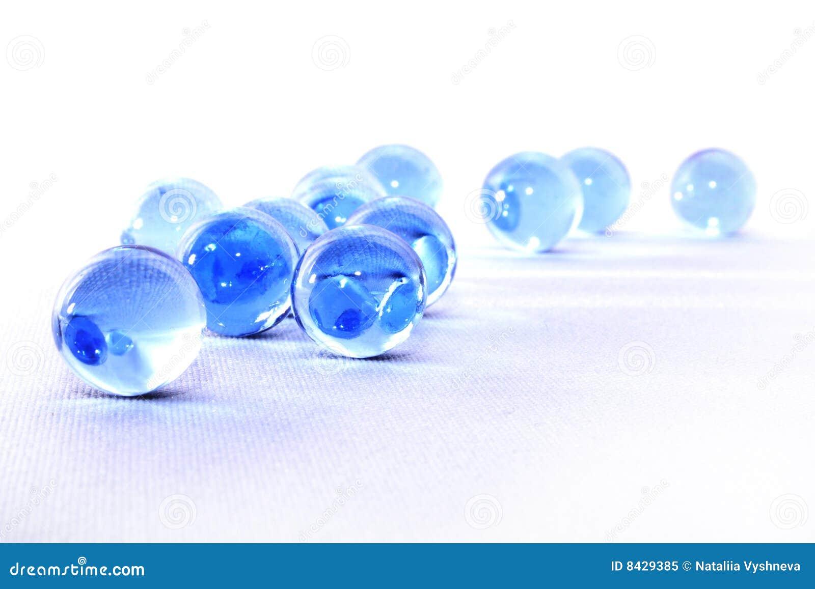 Piłki szklane