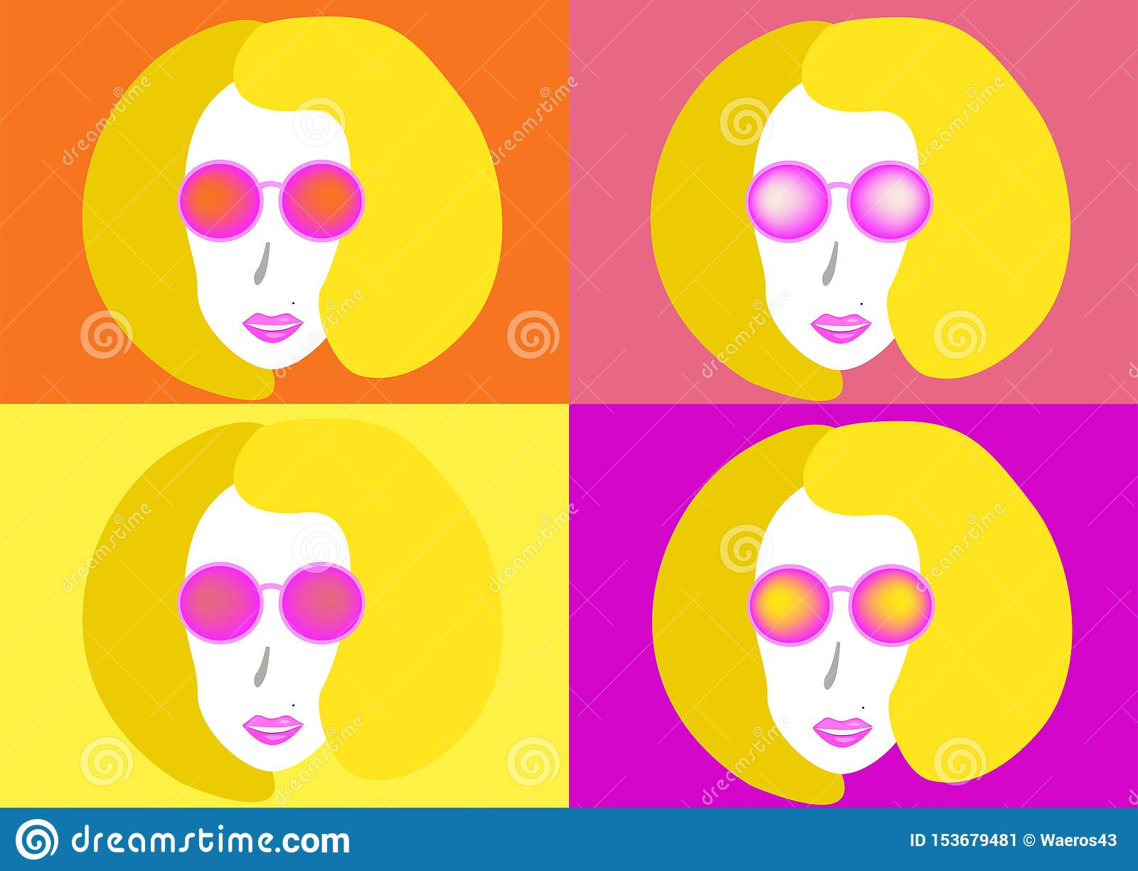 Pi?kne, m?ode kobiety okulary przeciws?oneczne