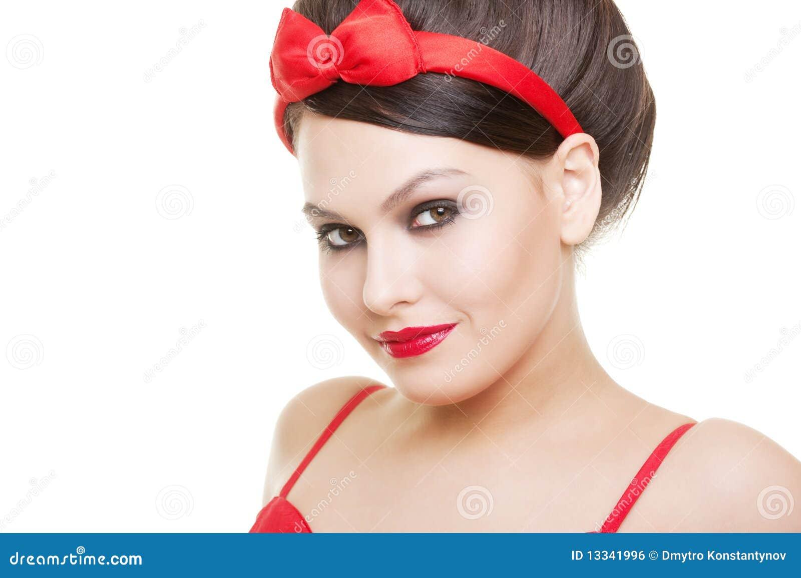 Piękni portreta kobiety potomstwa
