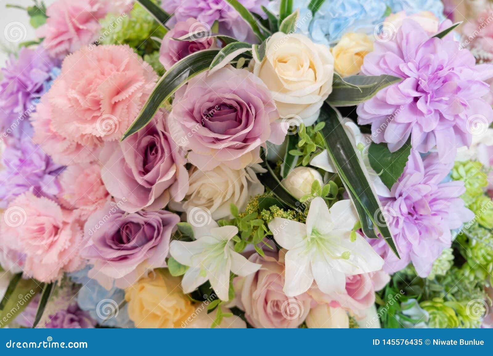 Pi?kny kolorowy bukiet kwiaty