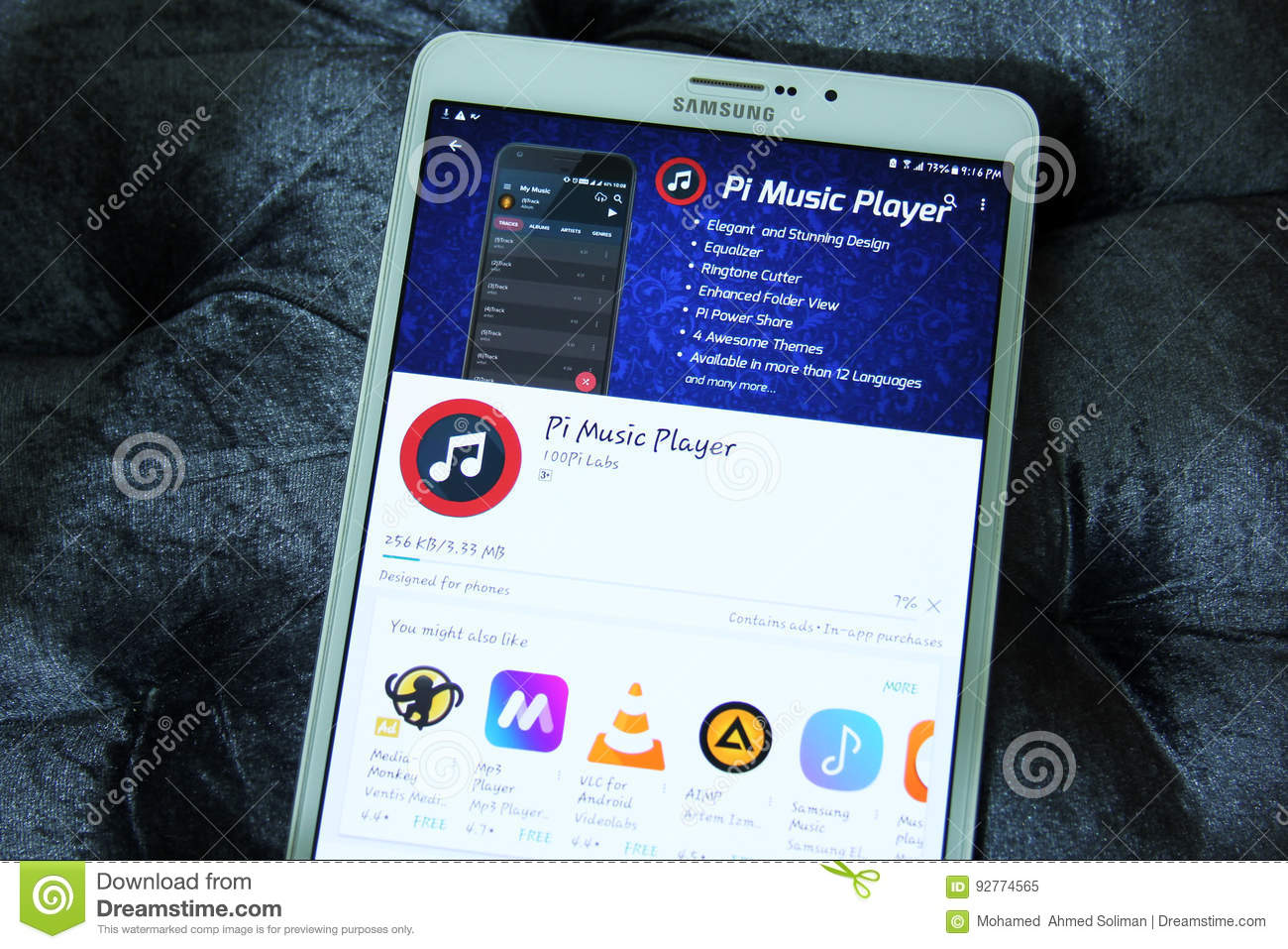Pandora app for radio and music editorial photo image of famous.