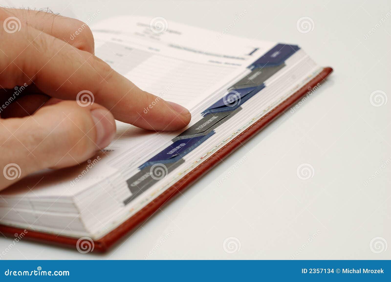 Pianificatore fotografia stock immagine di diario data for Pianificatore di blueprint gratuito