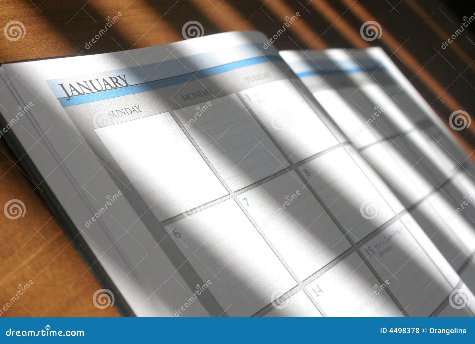 Pianificatore di giorno fotografia stock immagine di for Pianificatore di blueprint gratuito