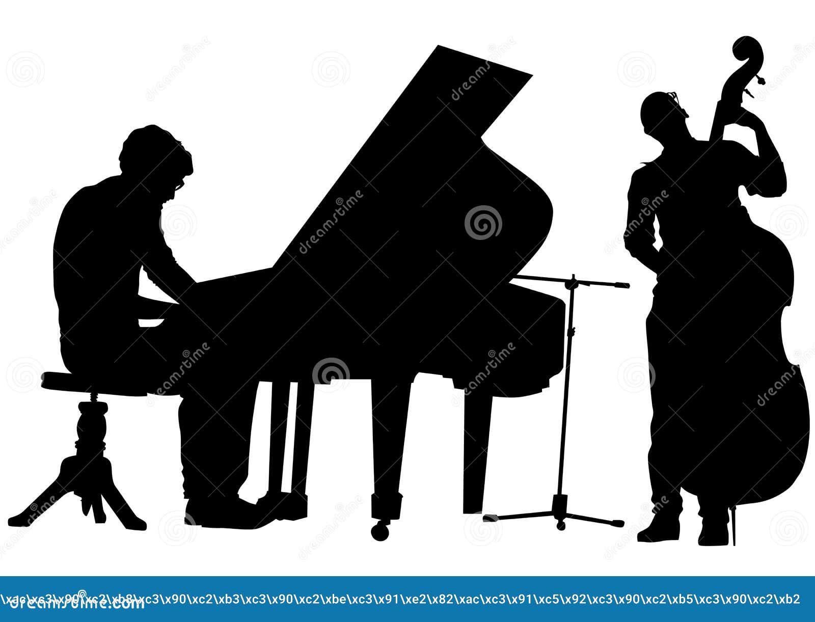 Pianist en baarzen