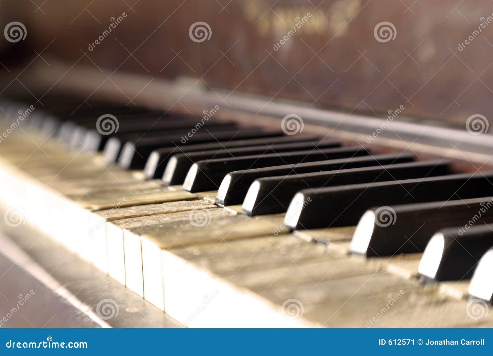 Piano 04 do vintage