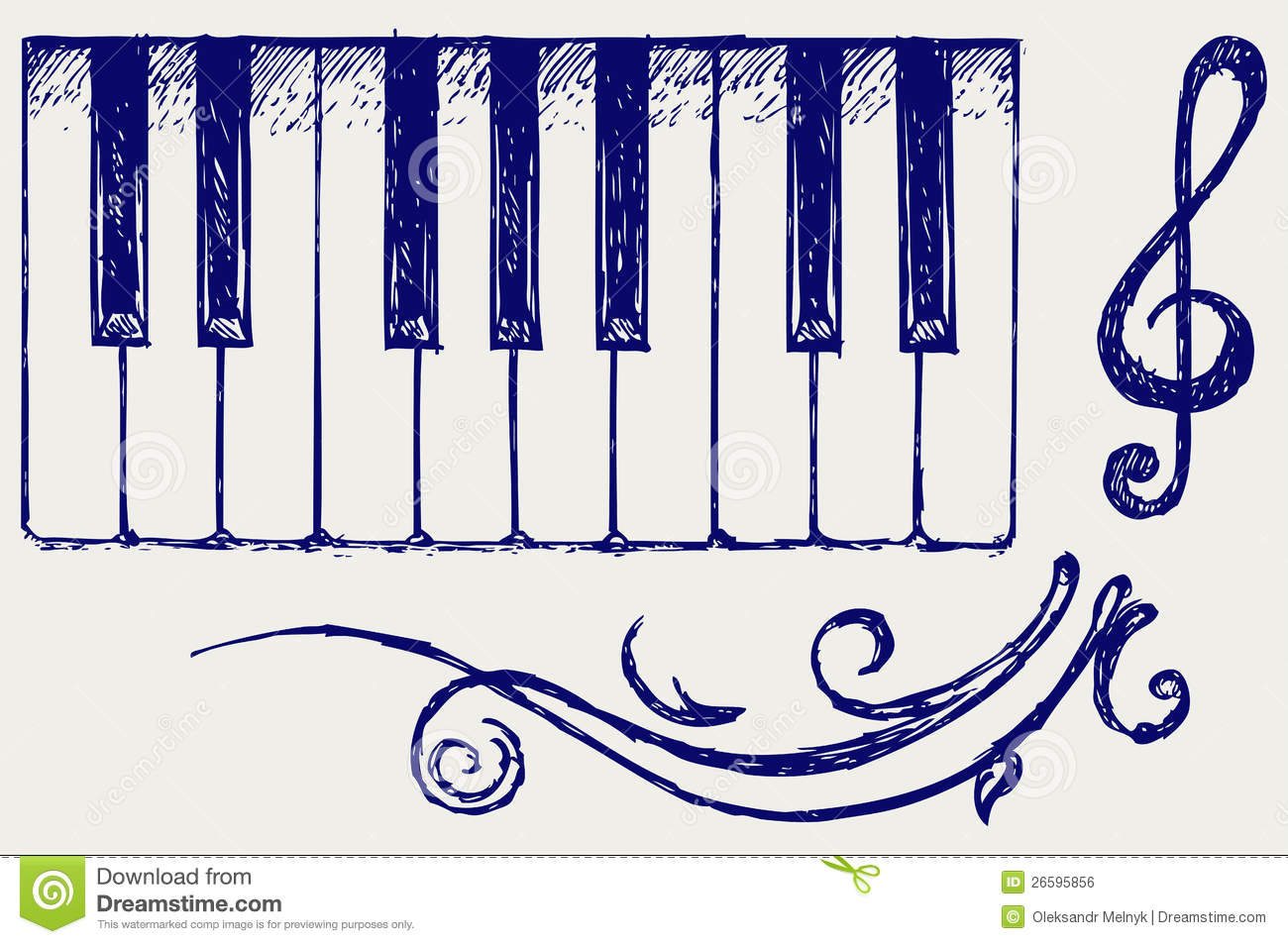 Piano Royalty Free Stock Image - Image: 26595856