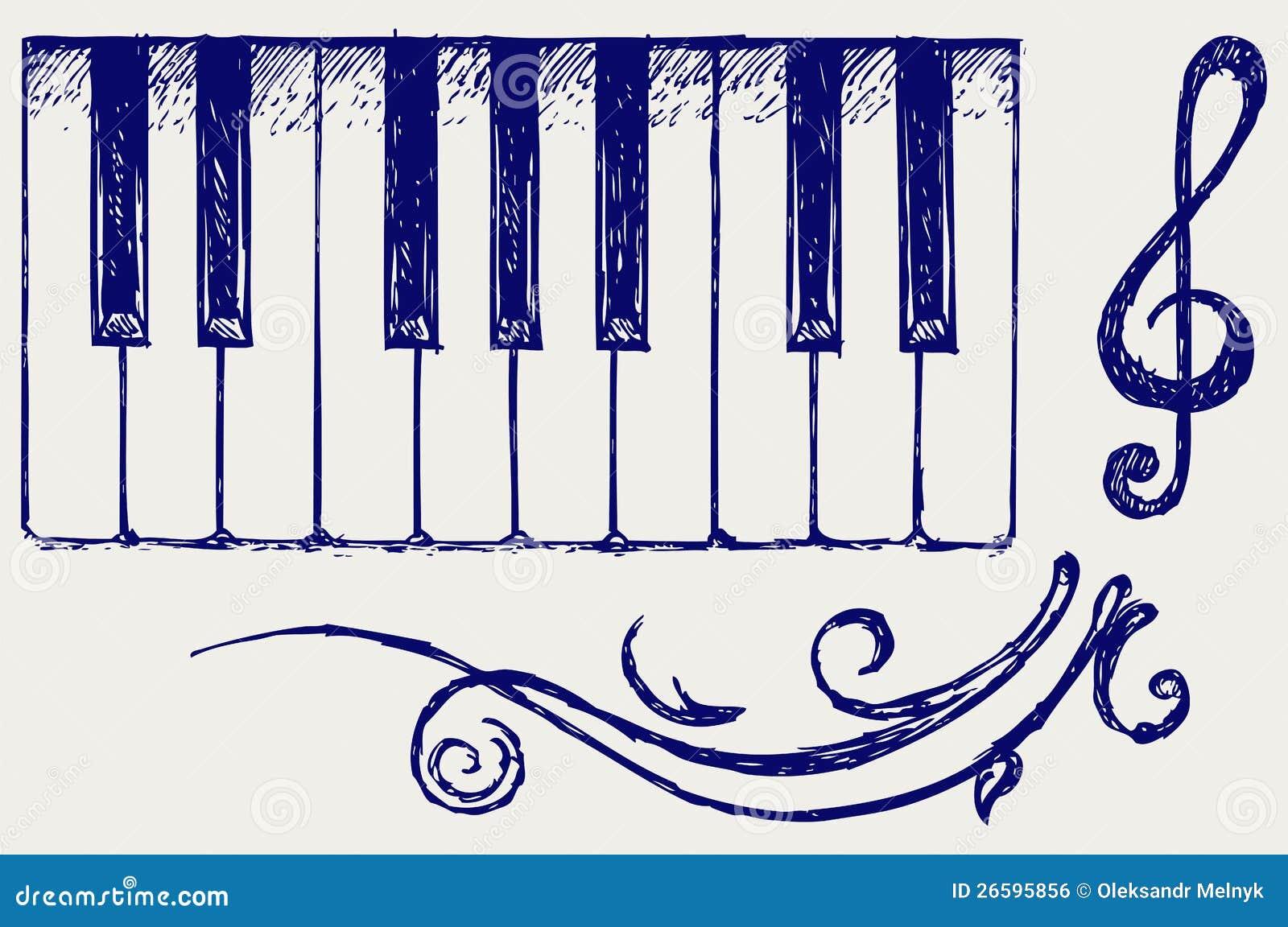 Piano Royalty Free Stock Image Image 26595856