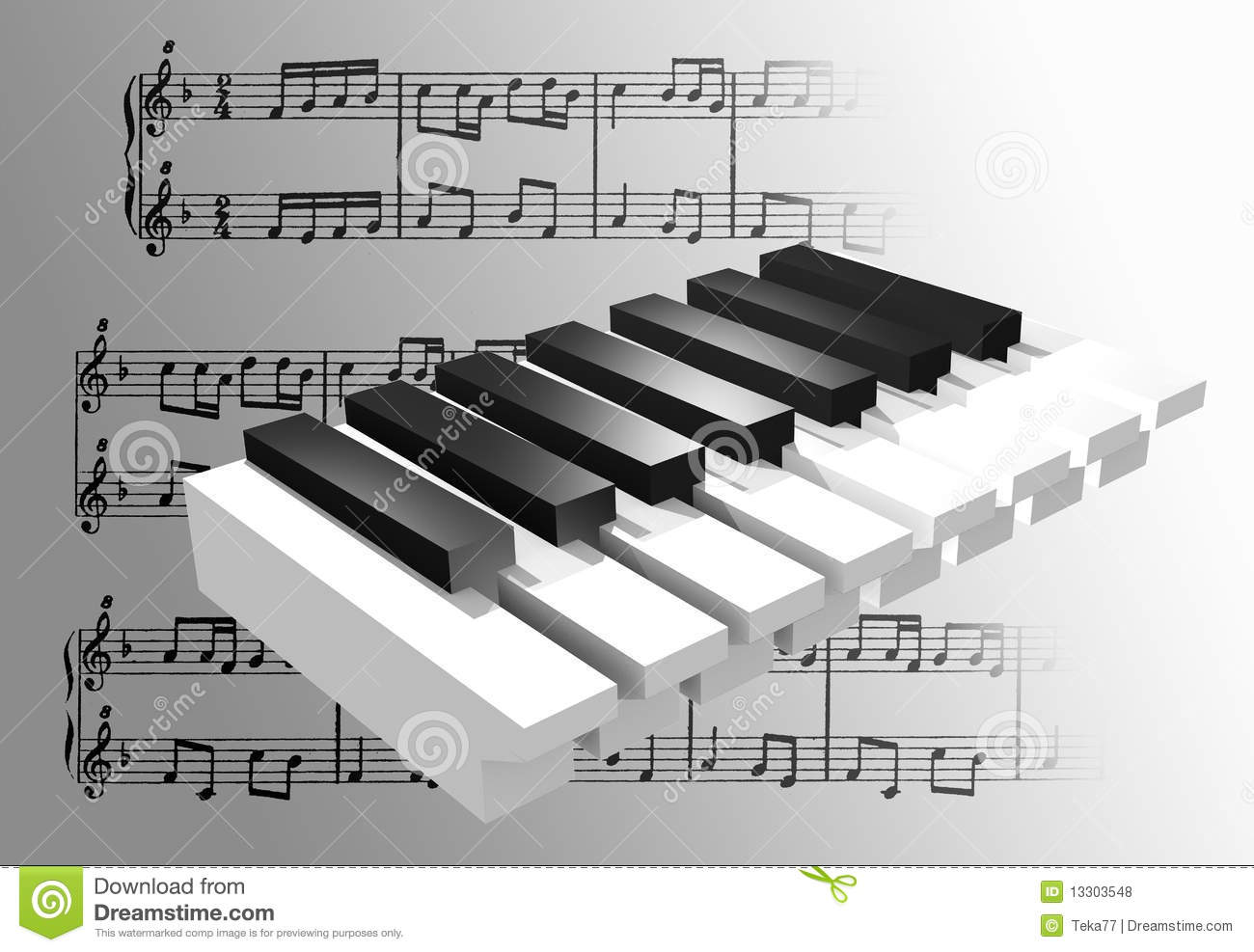 Piano 3d advanced stock illustration illustration of render royalty free stock photo pooptronica