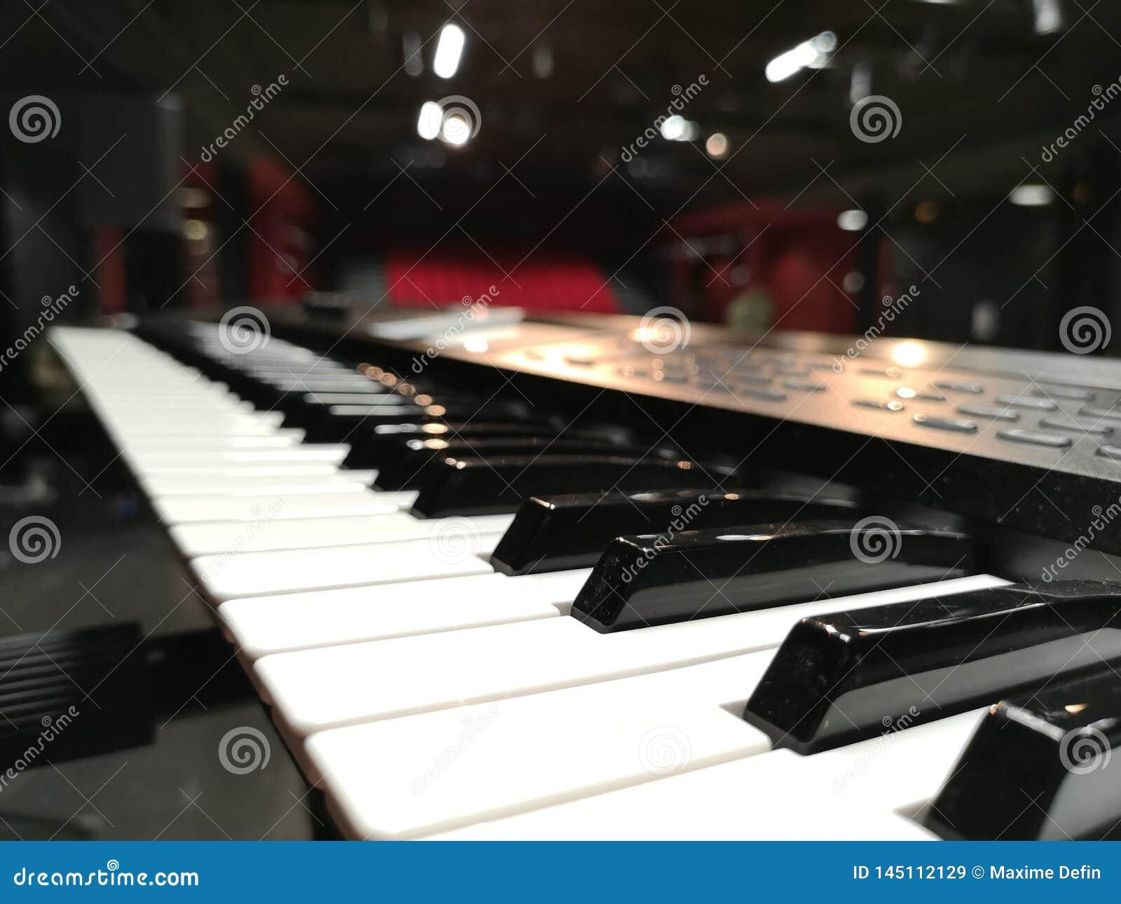Piano antes do concerto