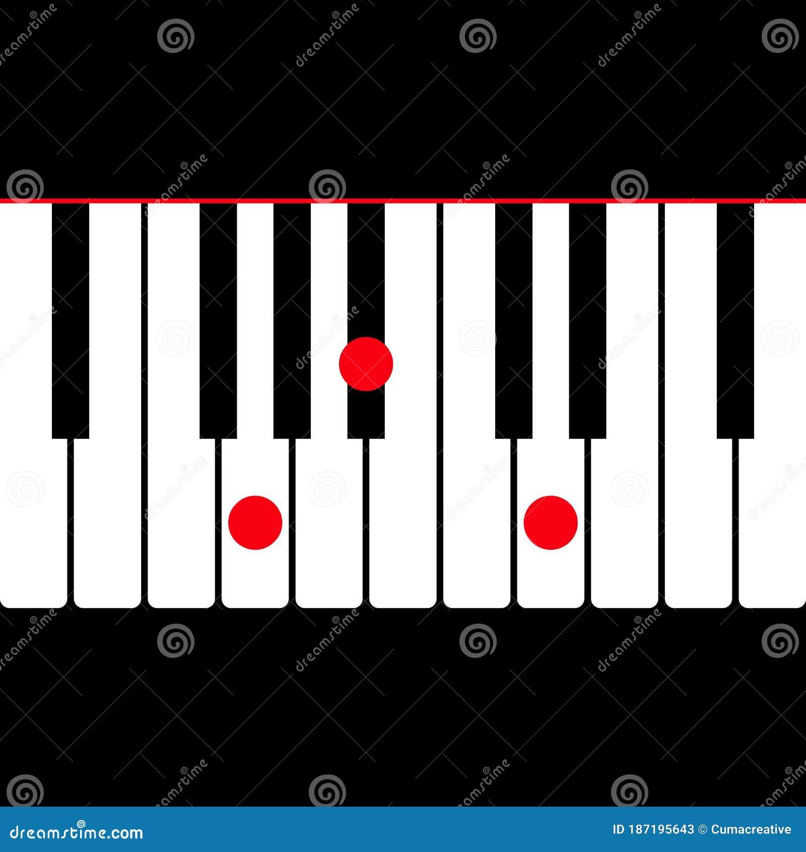 Piano Chord Stock Illustrations – 15,15 Piano Chord Stock ...