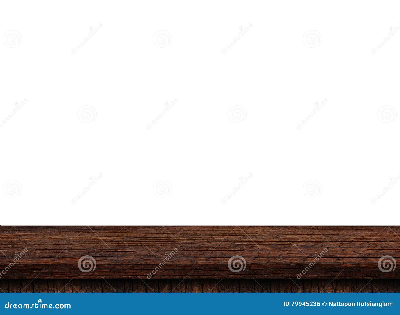 Piano d appoggio di legno leggero vuoto