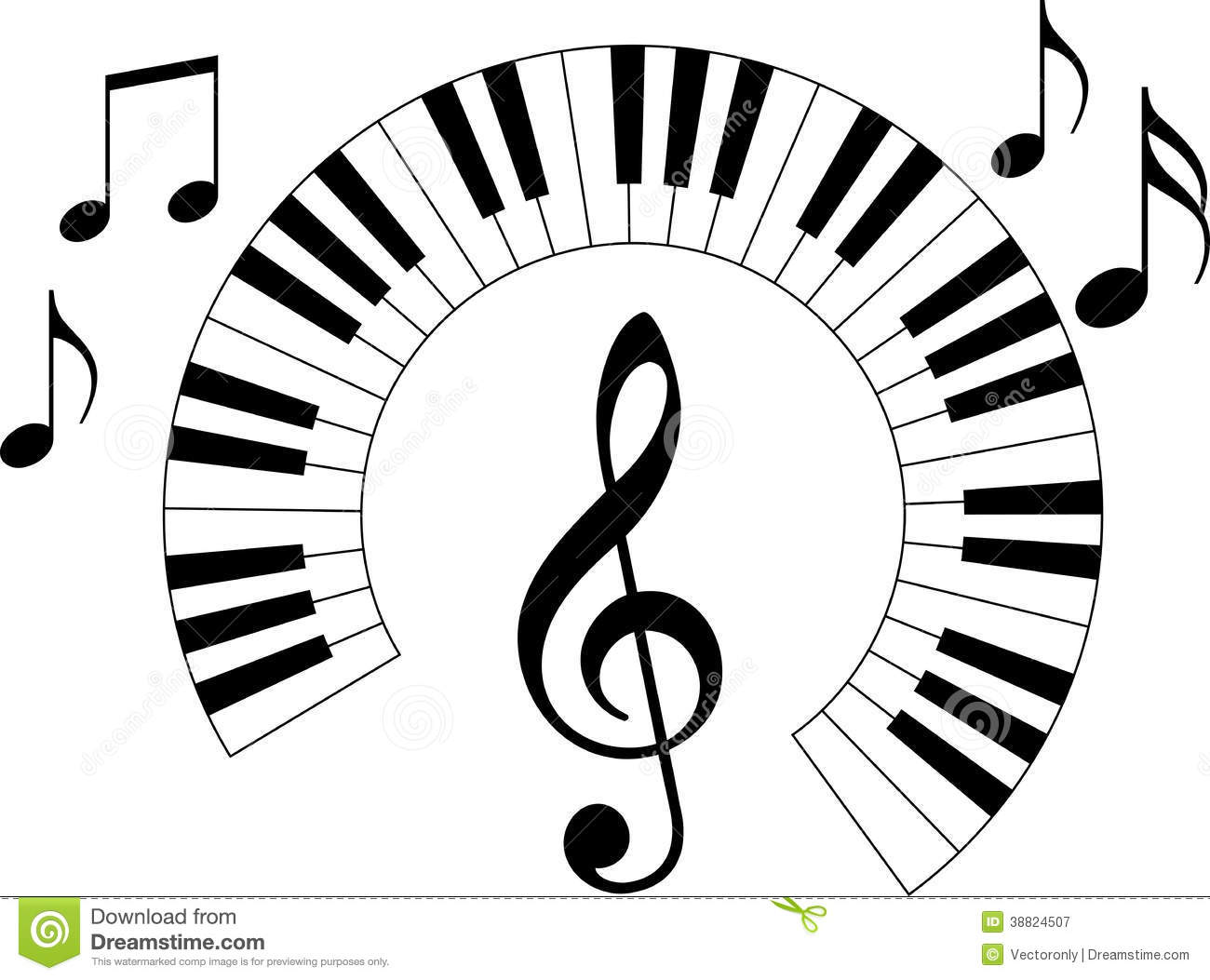 piano keyboard stock vector image 38824507 bass guitar player clipart guitar player silhouette clipart
