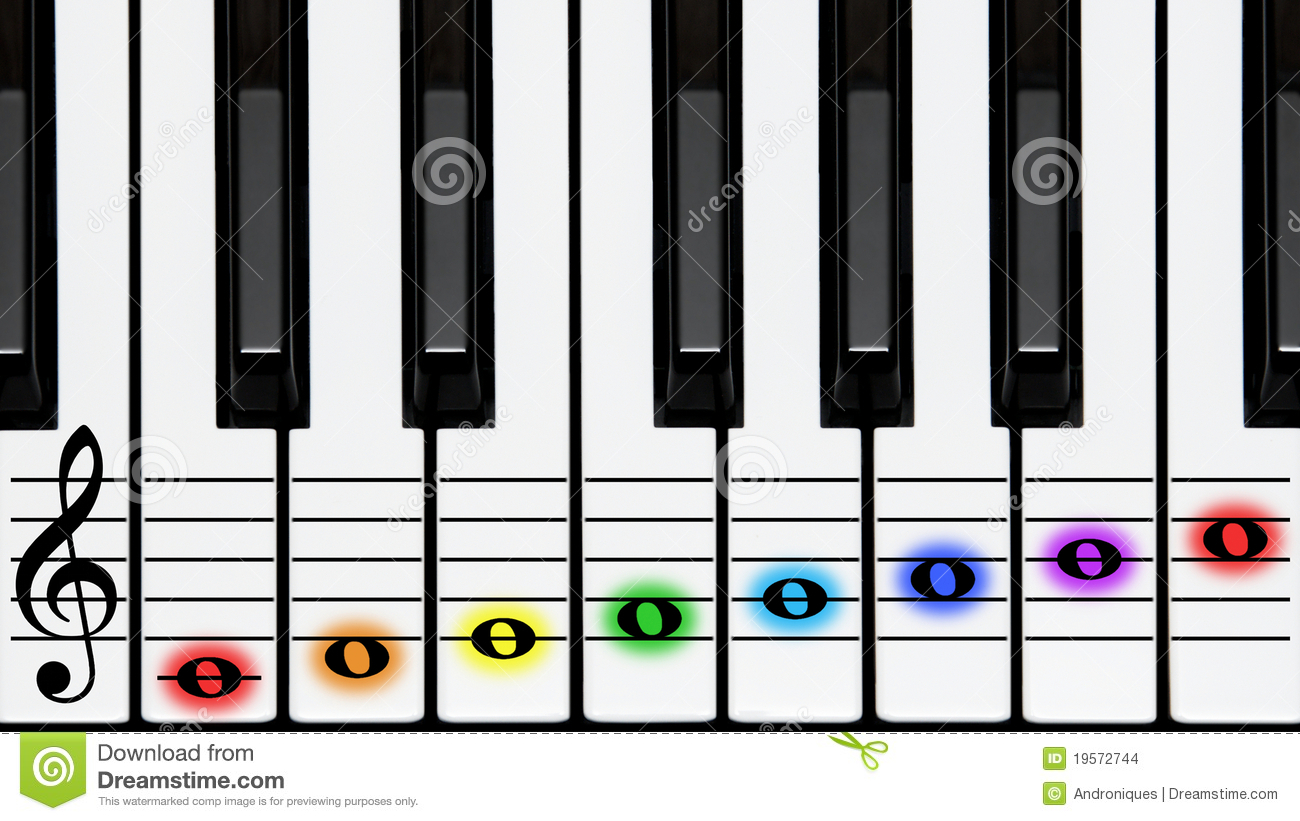 Displaying 17> Images For - Rainbow Treble Clef Clip Art...