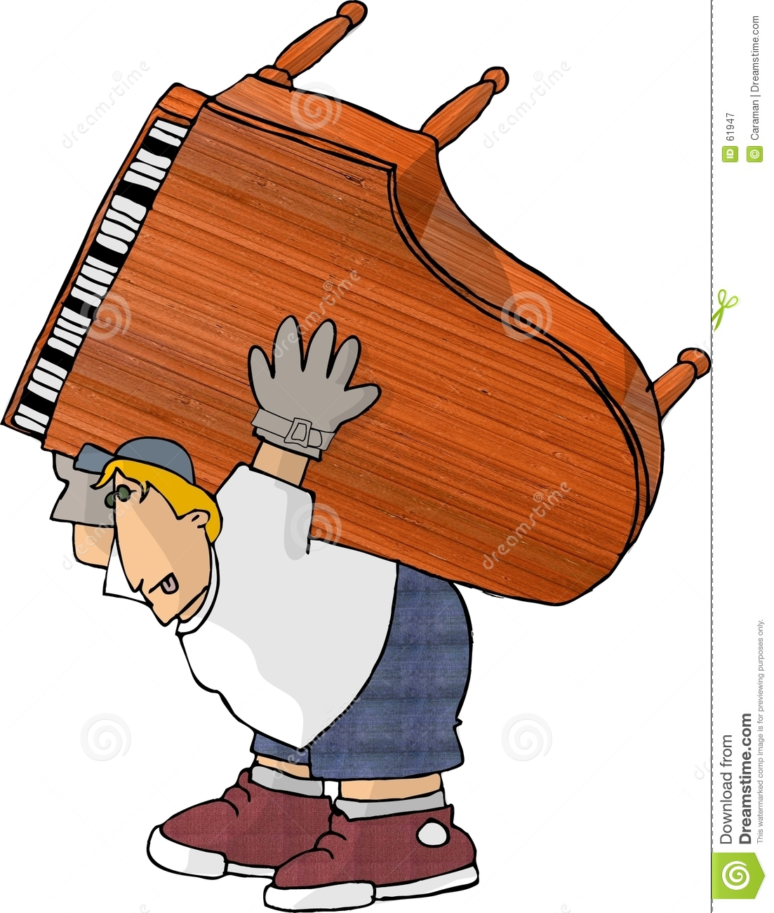 how to move a heavy piano