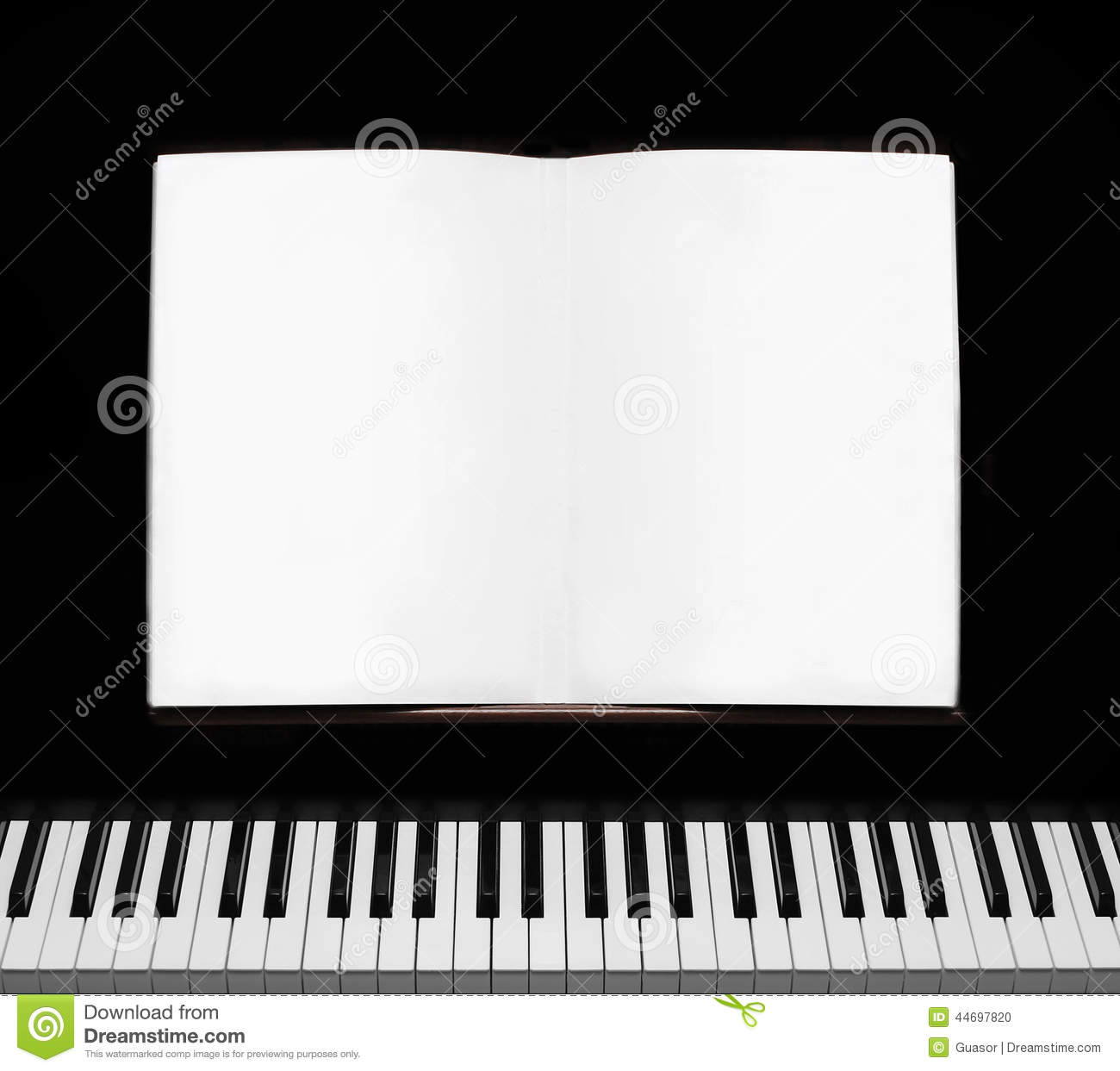 Piano Background Music: Piano Stock Photo