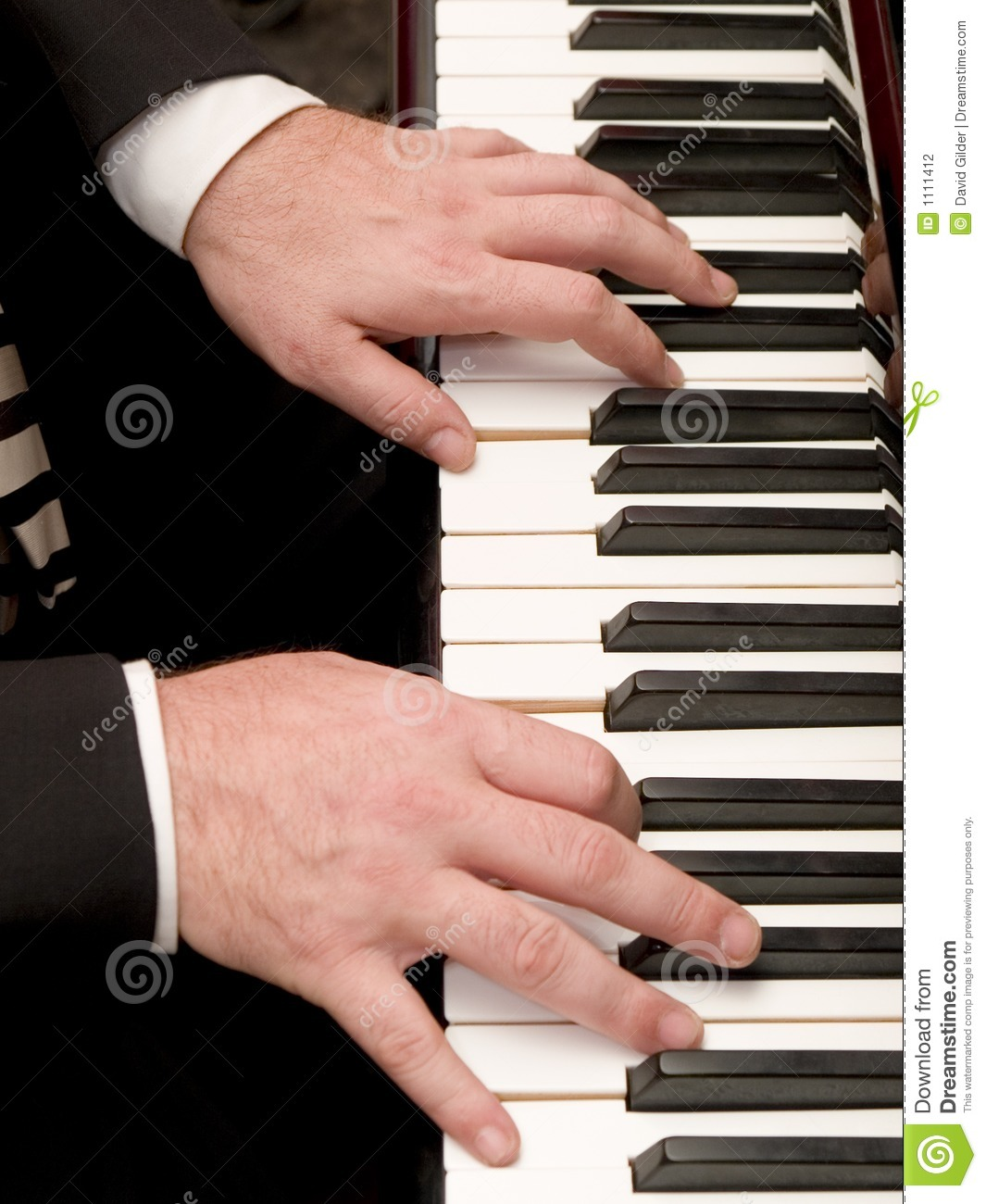 Piano Player Stock Photography - Image: 1111412