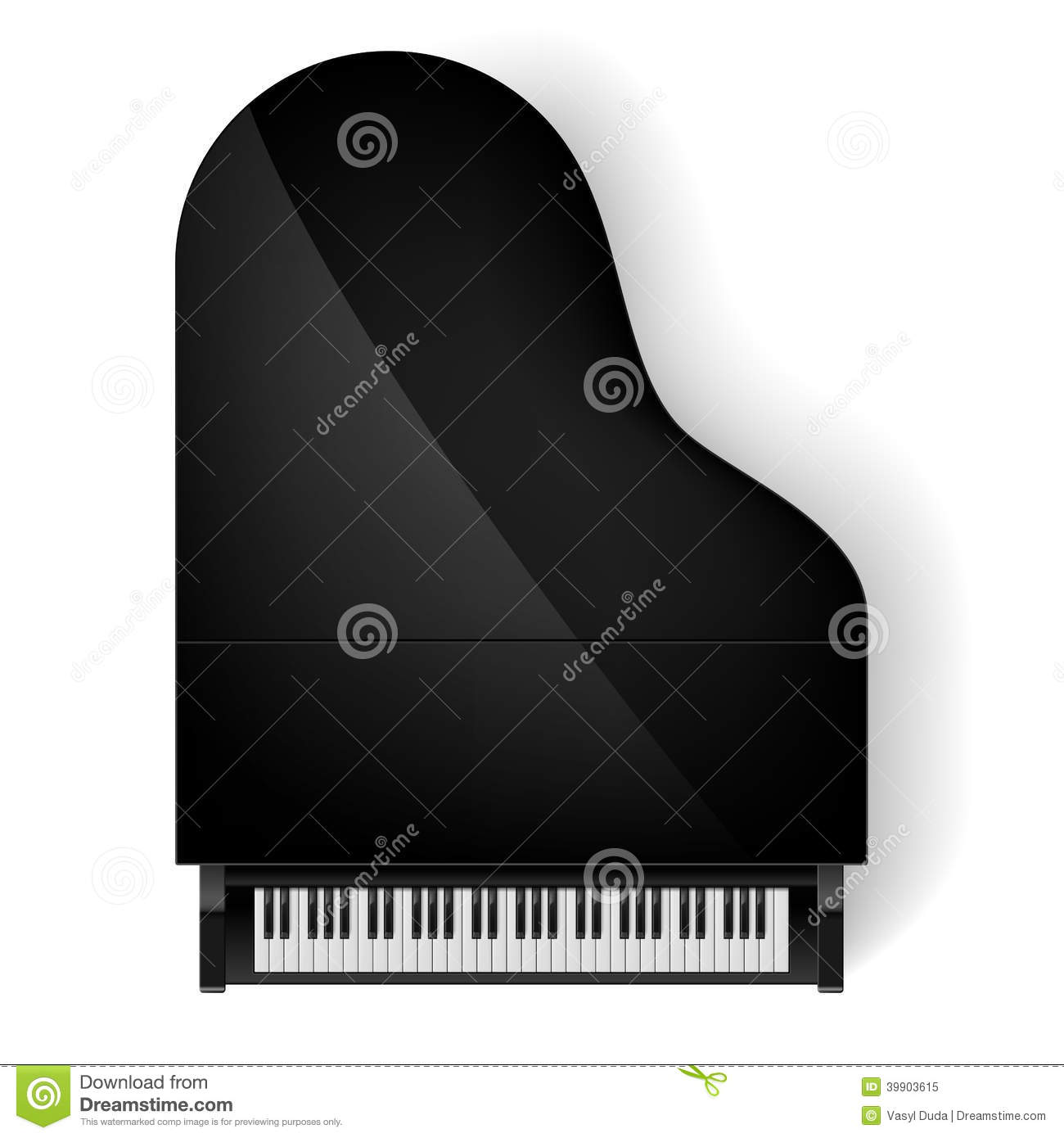 Piano In Top View Stock Illustration Image 39903615 : piano top view black grand white background 39903615 from www.dreamstime.com size 1300 x 1390 jpeg 91kB