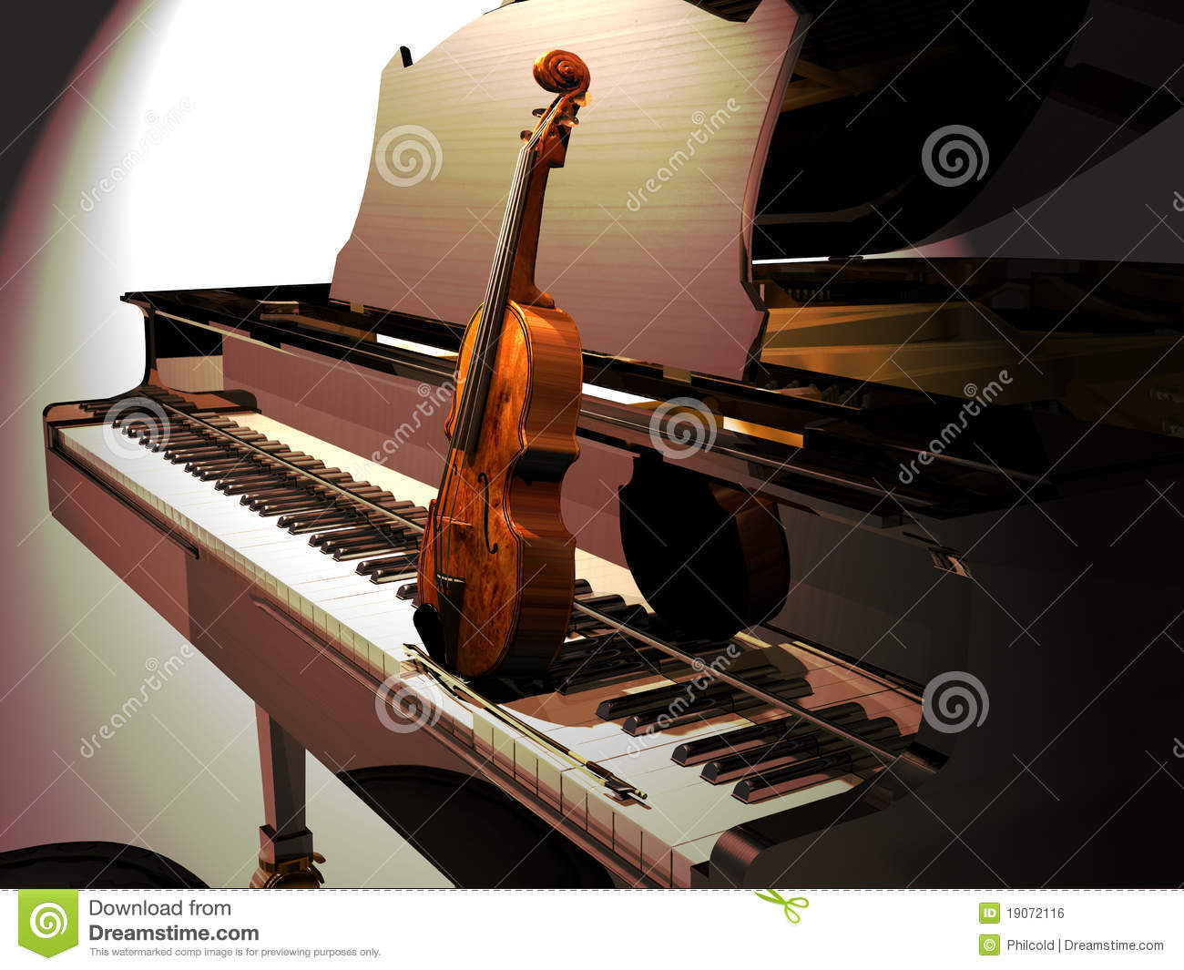 Piano And Violin Concert Royalty Free Stock Image Image  : piano violin concert 19072116 from www.dreamstime.com size 1300 x 1065 jpeg 155kB