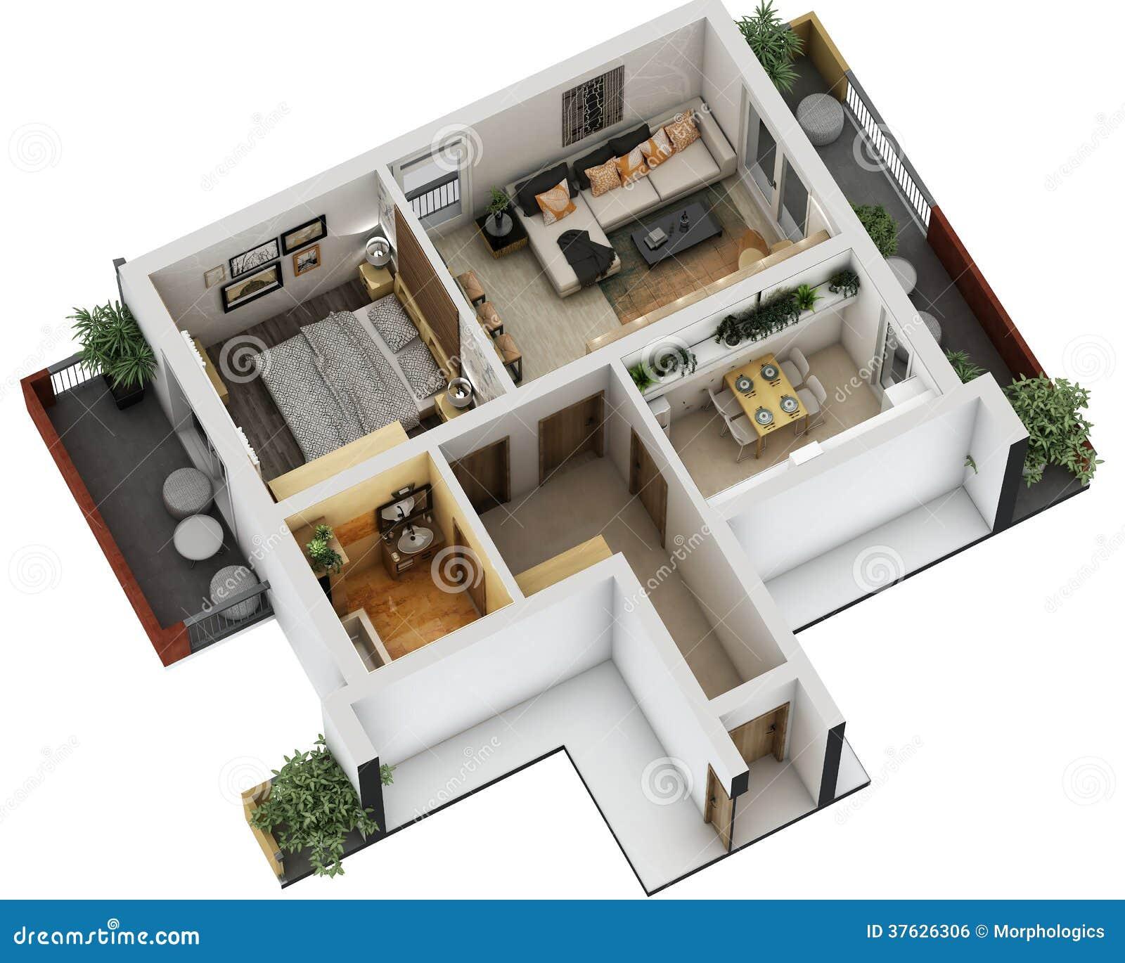 Draw Blueprints Online Free Pianta 3d Immagine Stock Libera Da Diritti Immagine