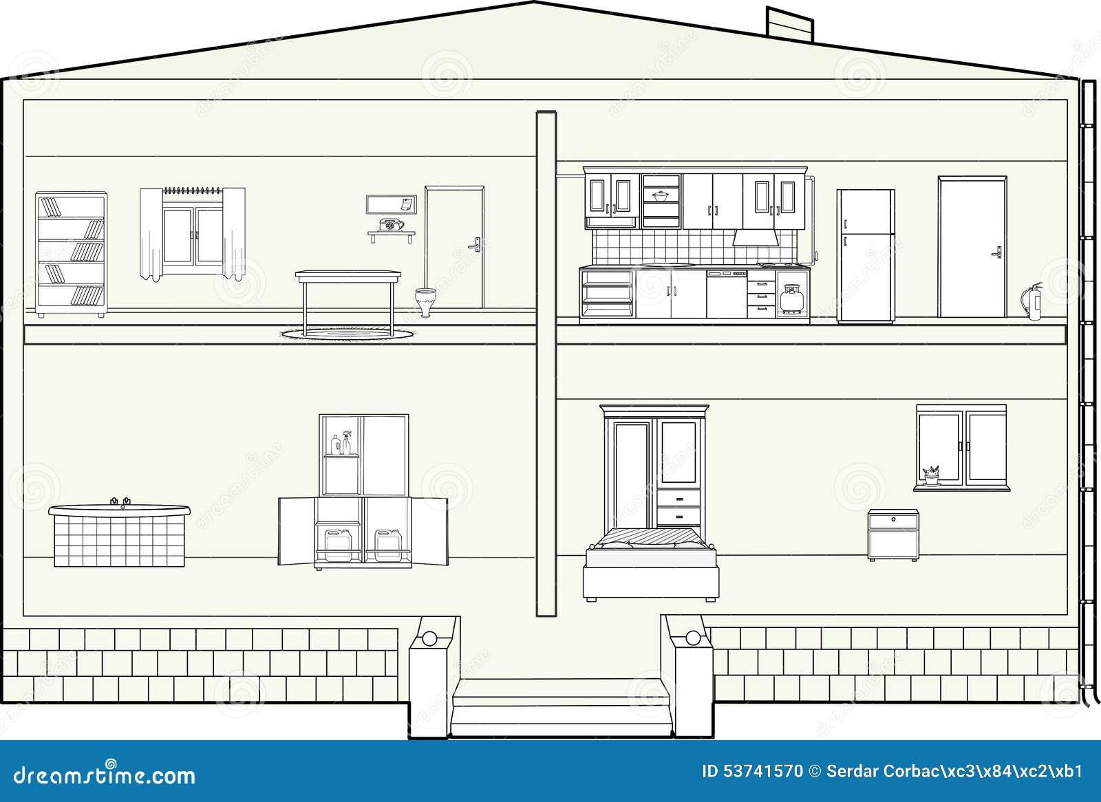 creare una piantina della casa disegni interni ed