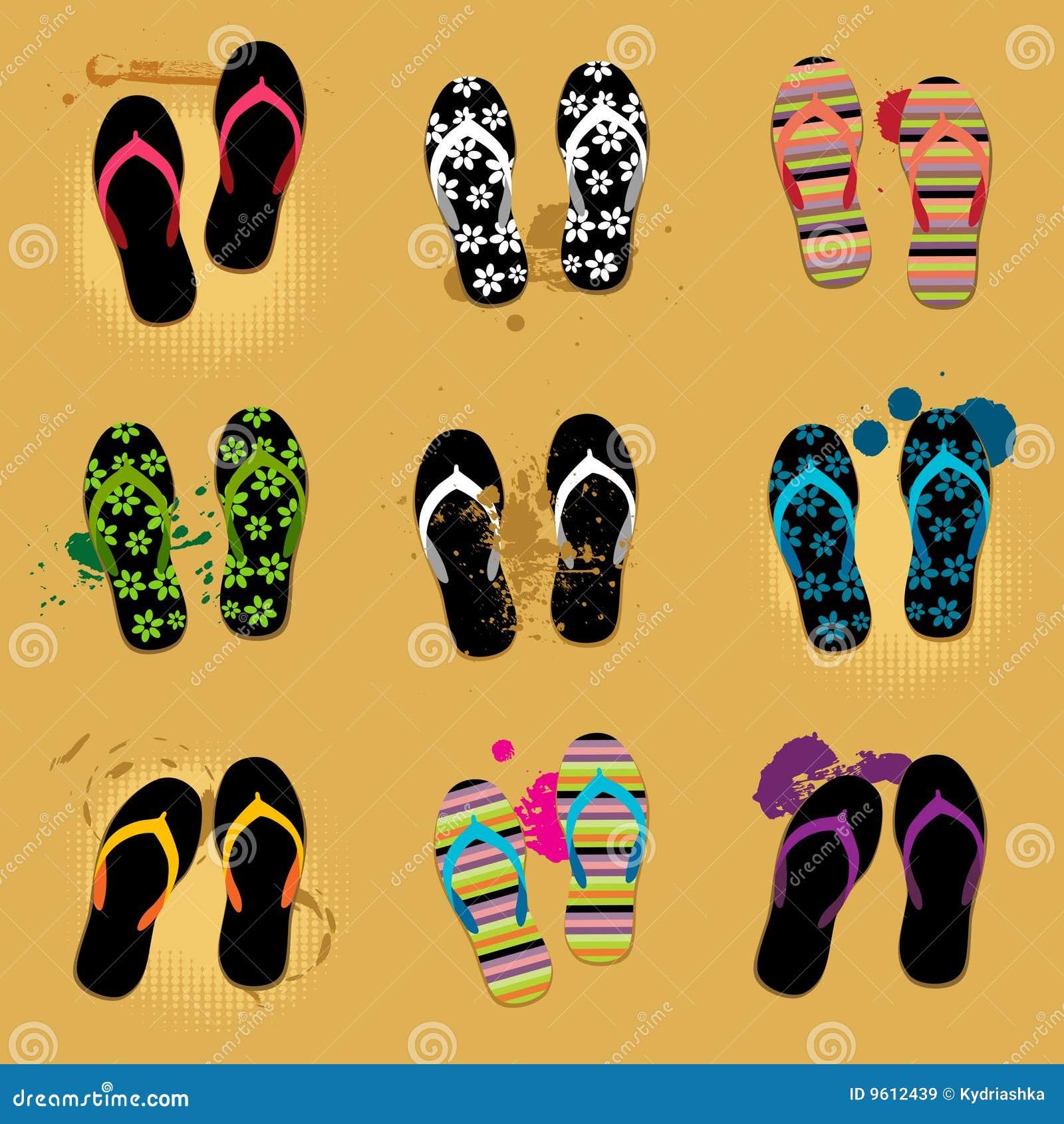 Piasków plażowi sandały