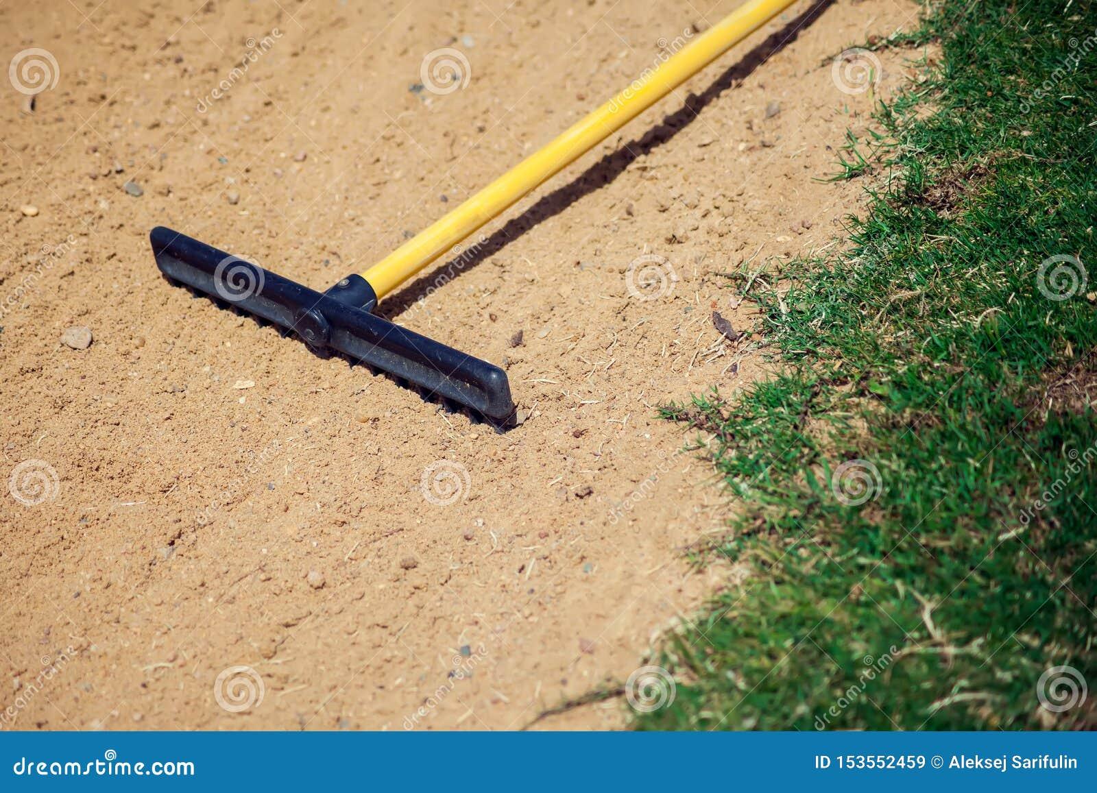 Piaska świntucha wyposażenie na golfowym polu