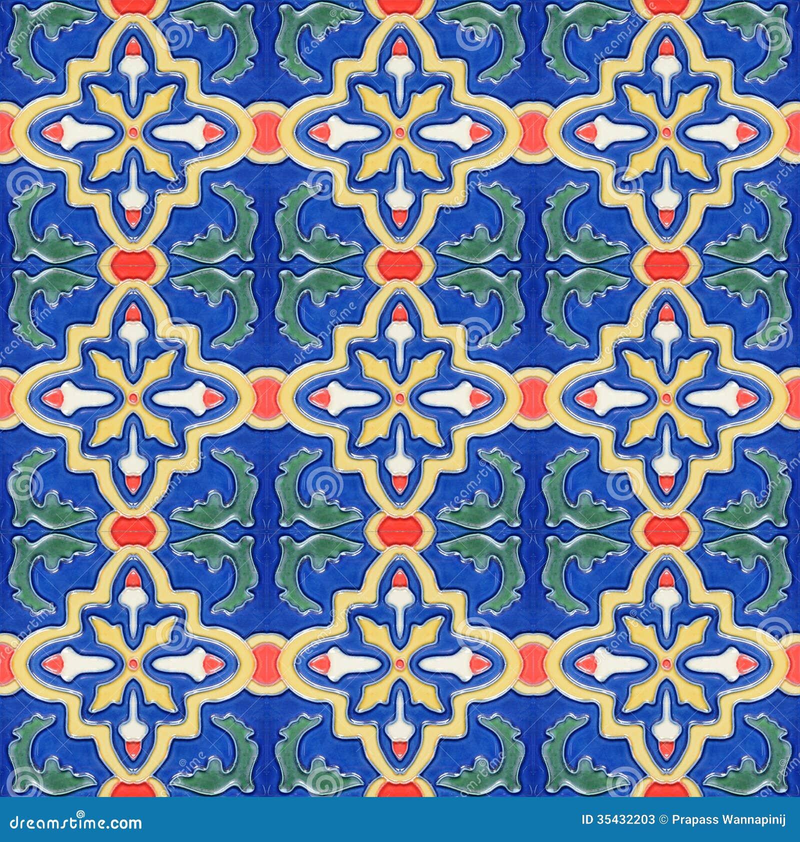 Piastrella Di Ceramica Marocchina Dellannata Stile