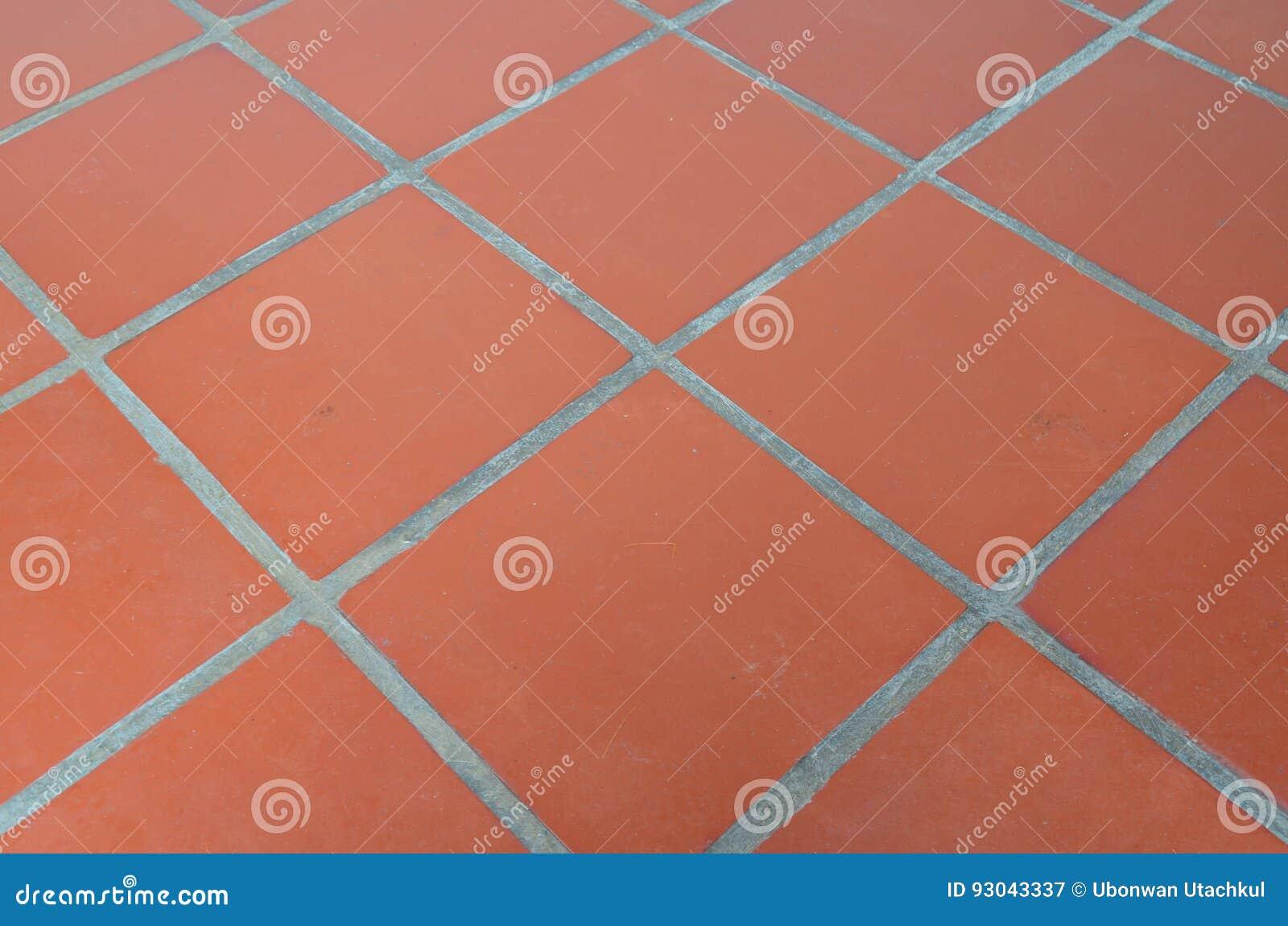 Piastrella per pavimento arancio immagine stock immagine di