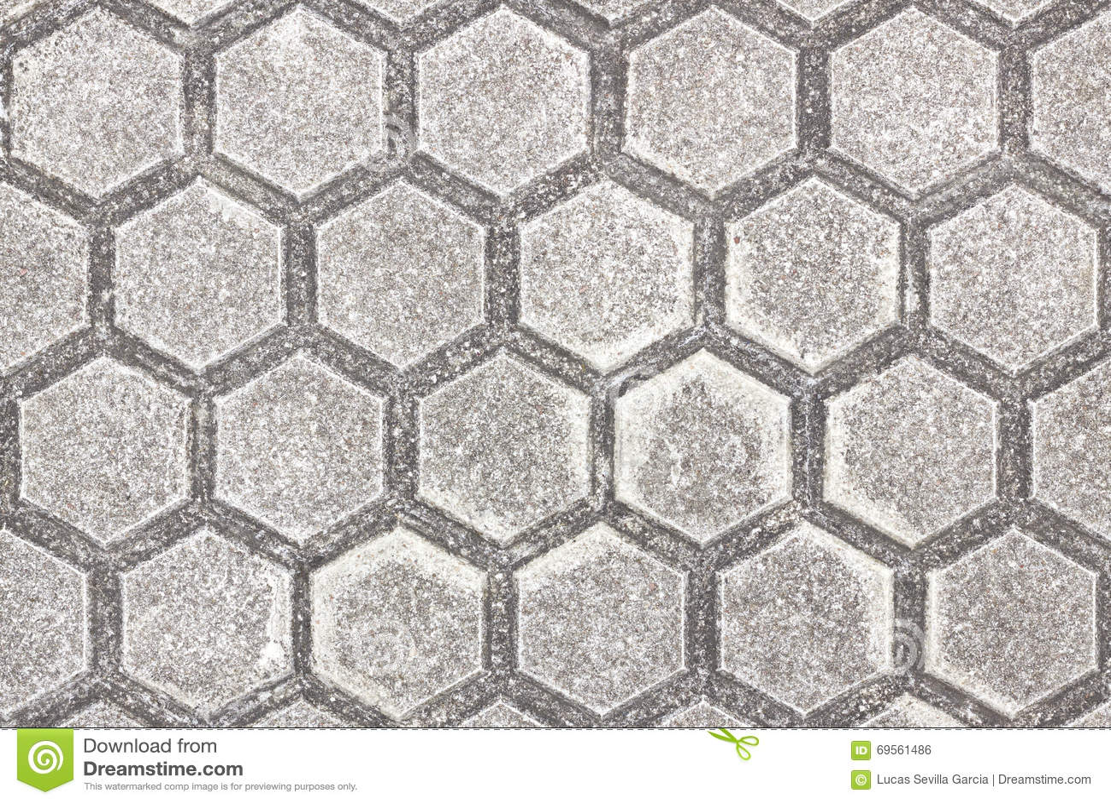 Piastrella per pavimento esagonale fotografia stock immagine di